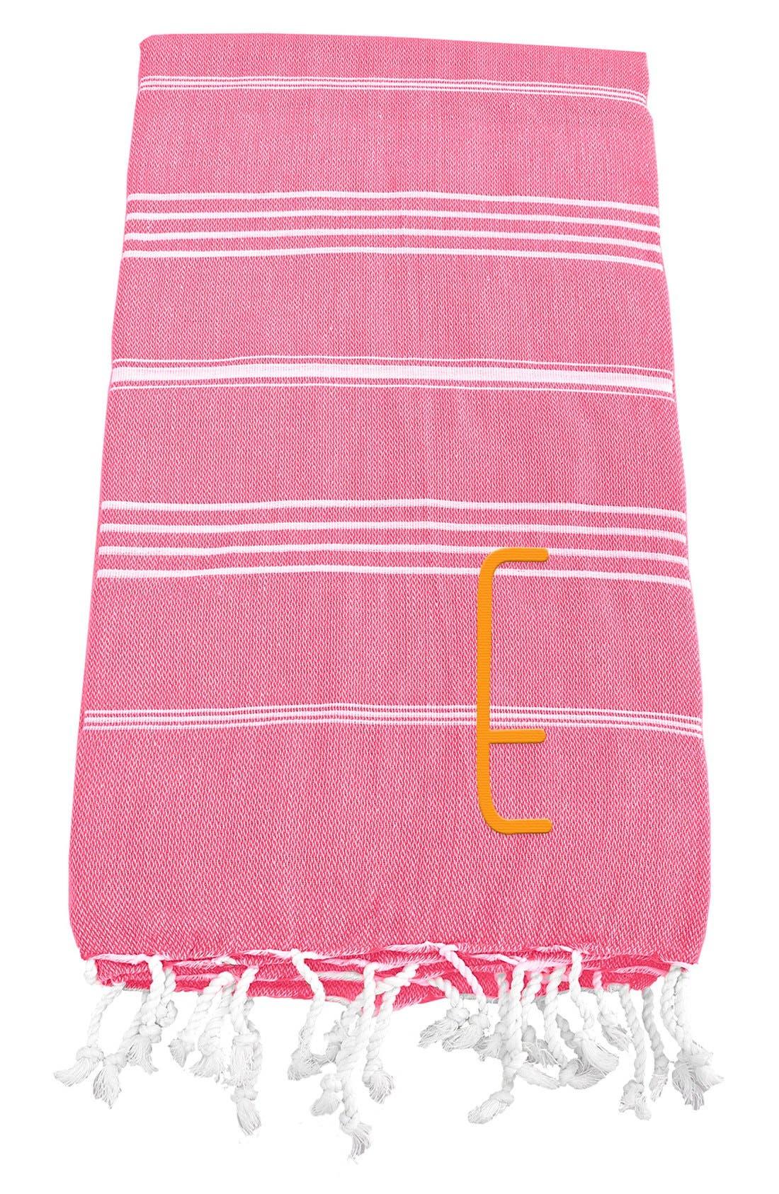 Monogram Turkish Cotton Towel,                             Main thumbnail 141, color,