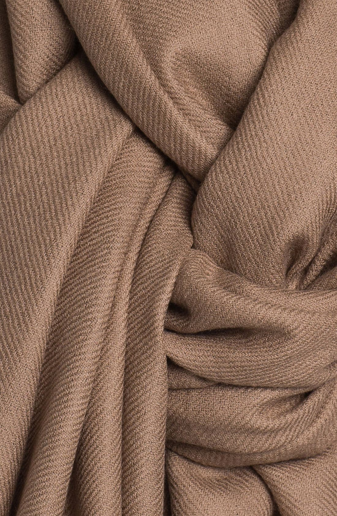 Tissue Weight Wool & Cashmere Wrap,                             Alternate thumbnail 180, color,