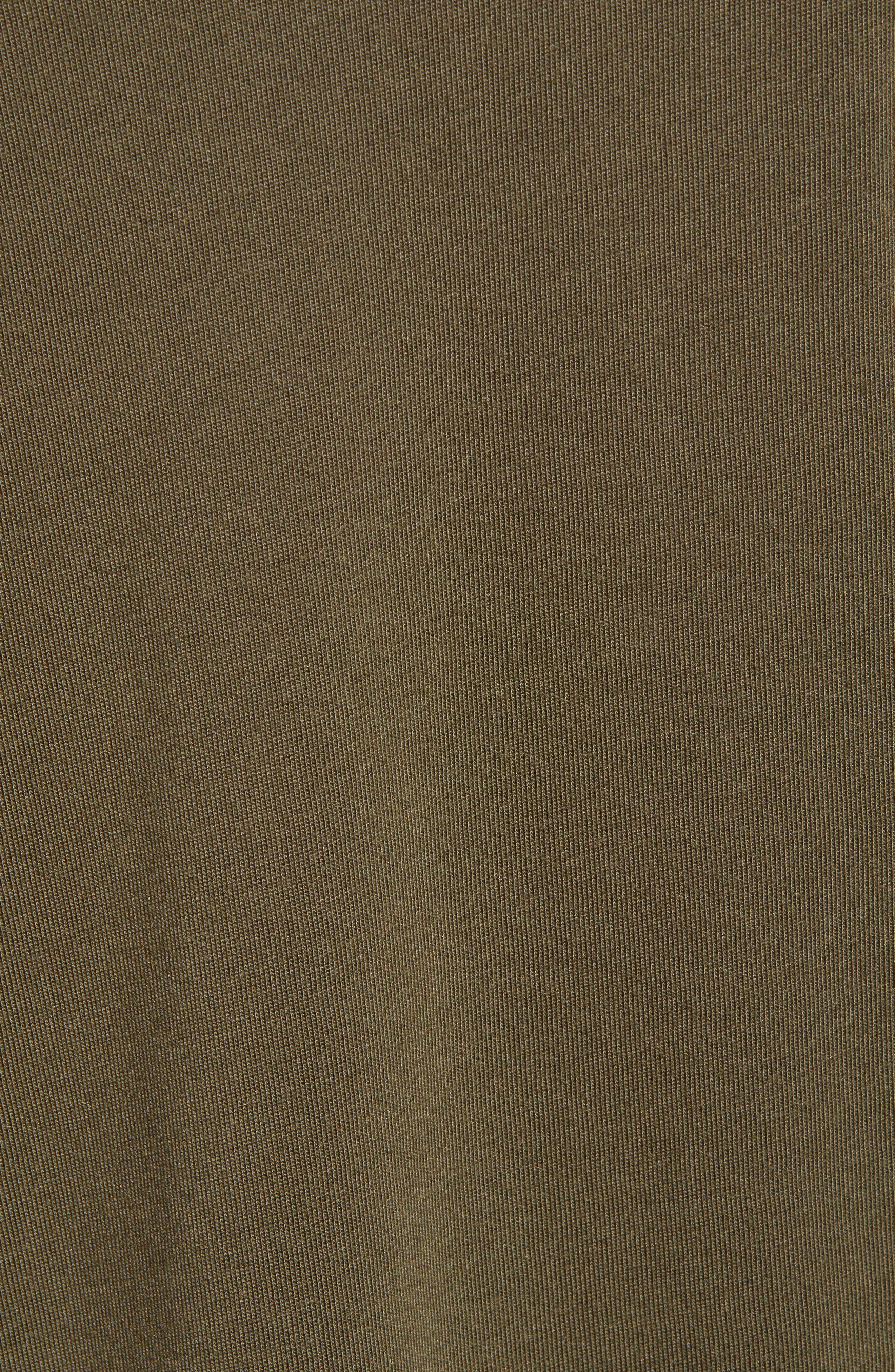 TREASURE & BOND,                             Blouson Sleeve Tee,                             Alternate thumbnail 5, color,                             OLIVE SARMA