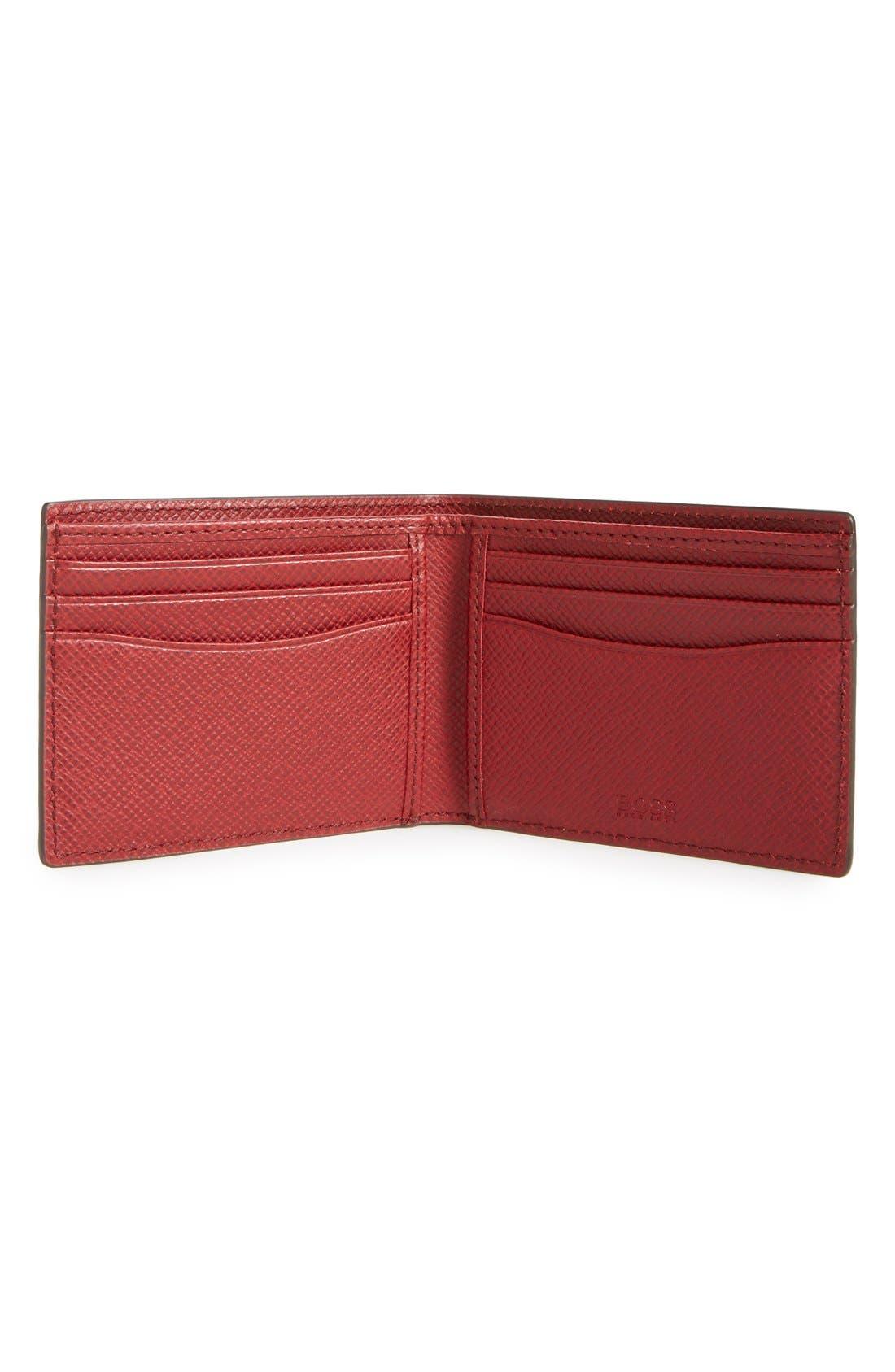 'Signature' Bifold Wallet,                             Alternate thumbnail 12, color,
