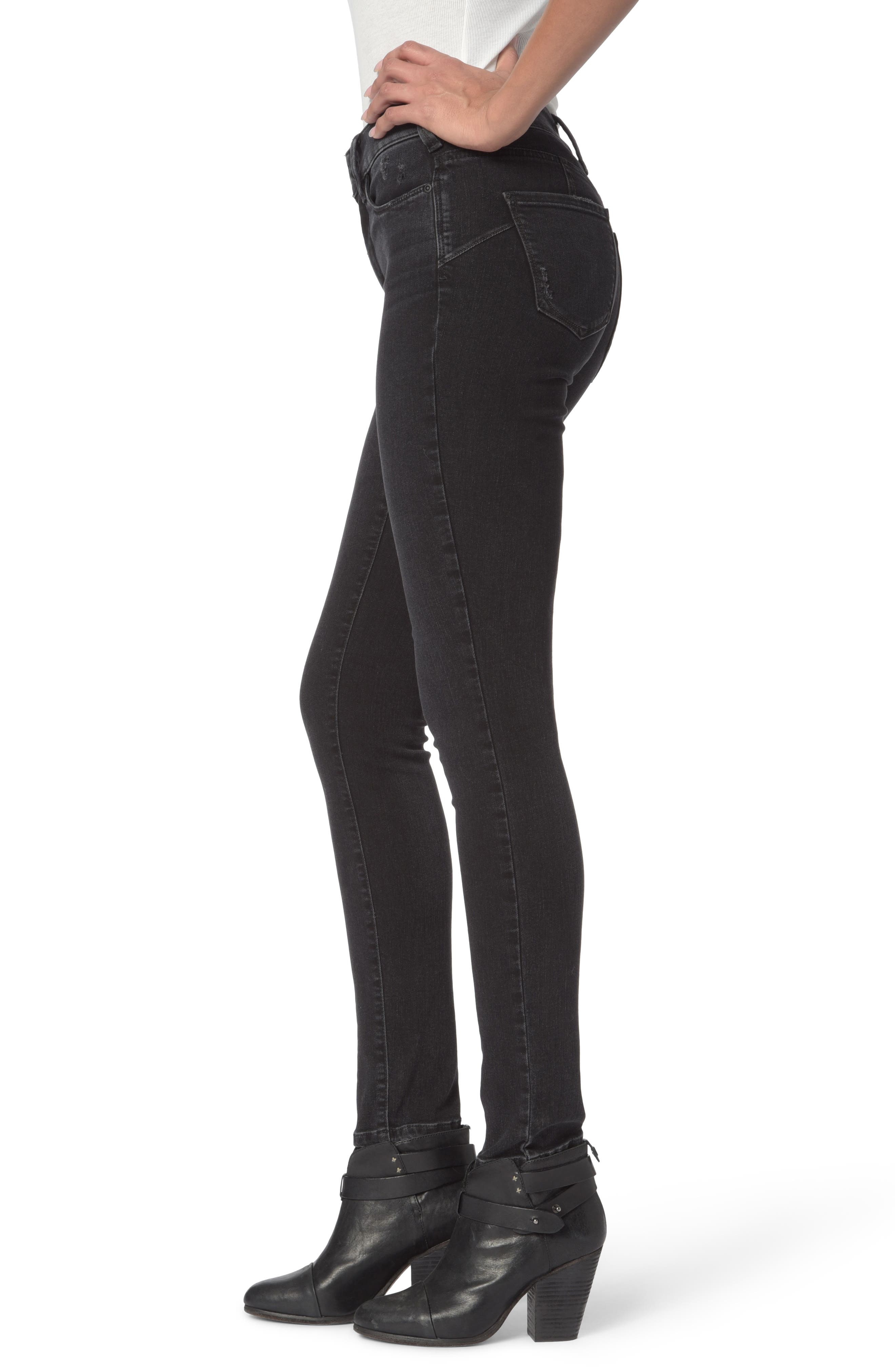 Alina Uplift Stretch Skinny Jeans,                             Alternate thumbnail 3, color,                             CAMPAIGN