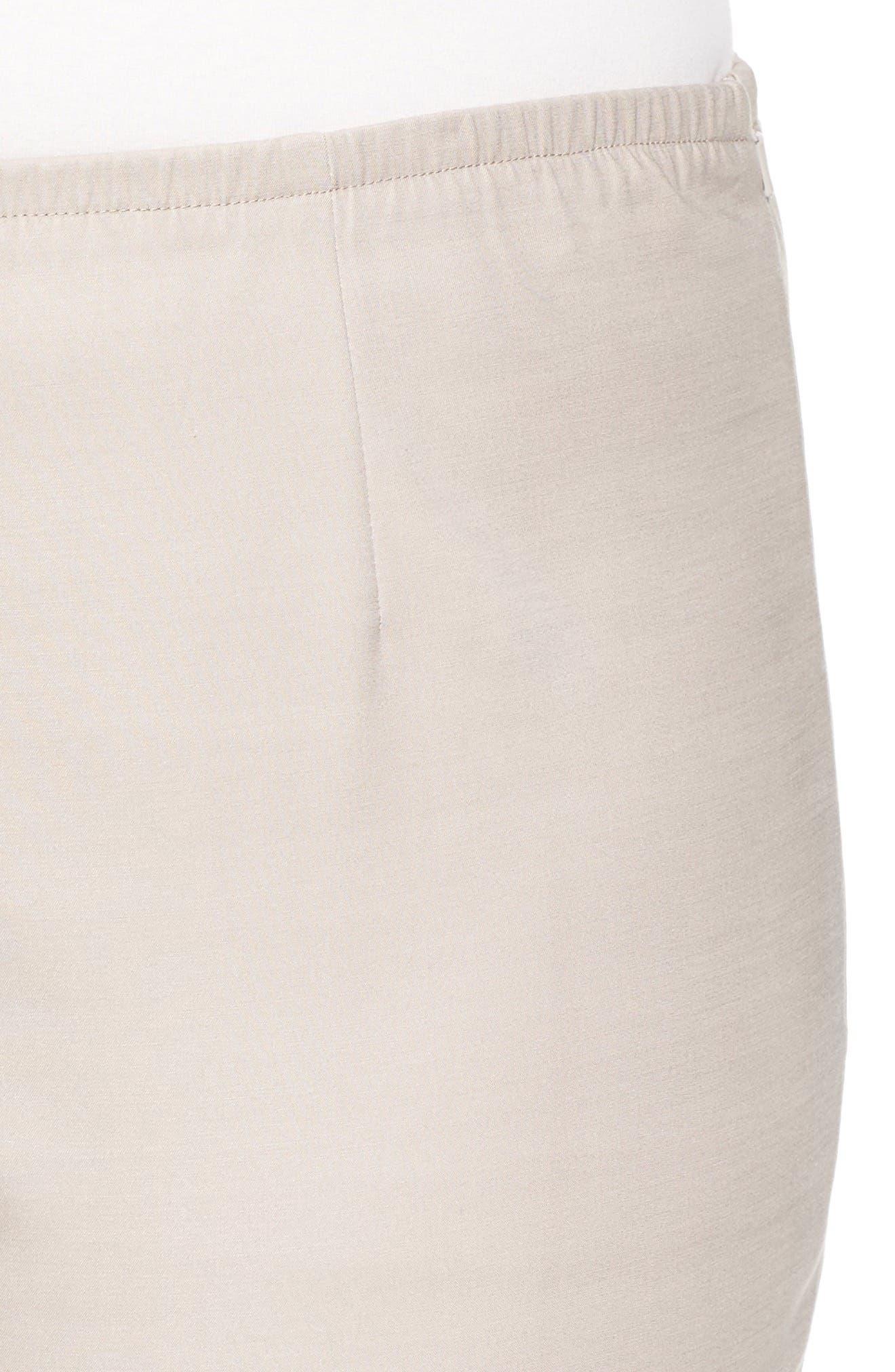 Perfect Side Zip Ankle Pants,                             Alternate thumbnail 4, color,                             292
