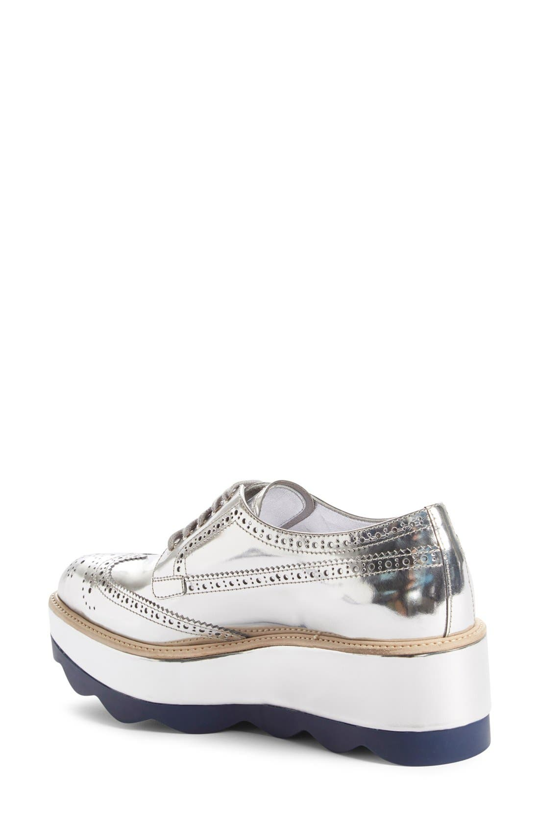Scalloped Platform Oxford,                             Alternate thumbnail 39, color,