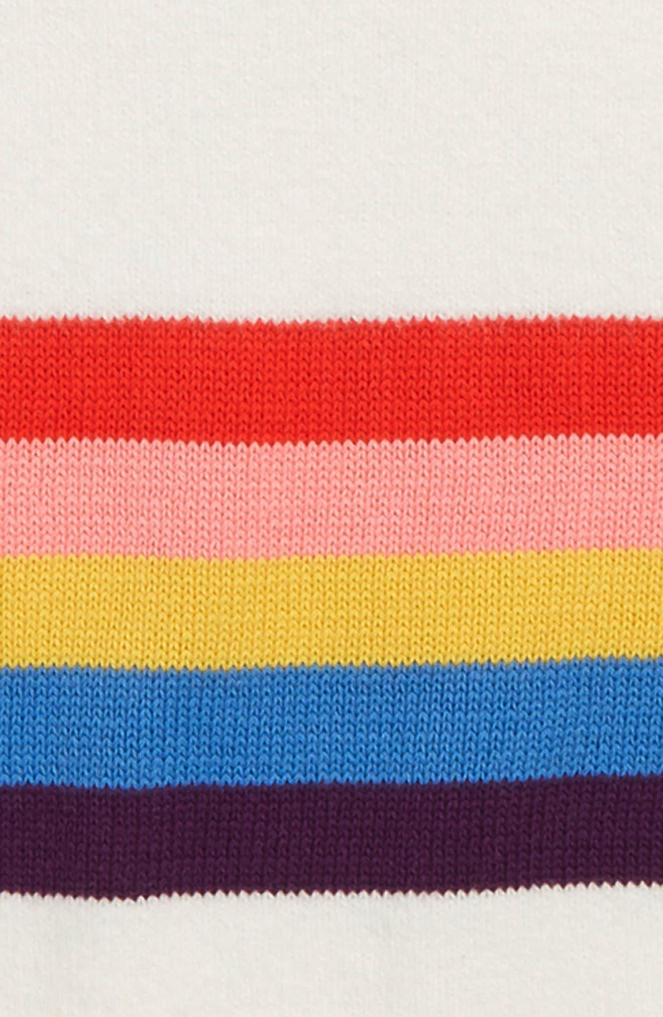 Stripe Drop Shoulder Sweater,                             Alternate thumbnail 2, color,                             900