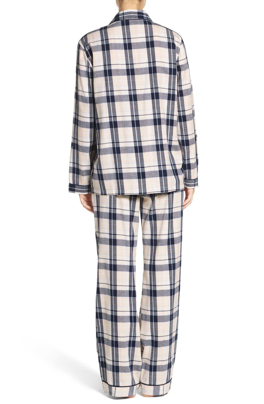 Cotton Twill Pajamas,                             Alternate thumbnail 33, color,
