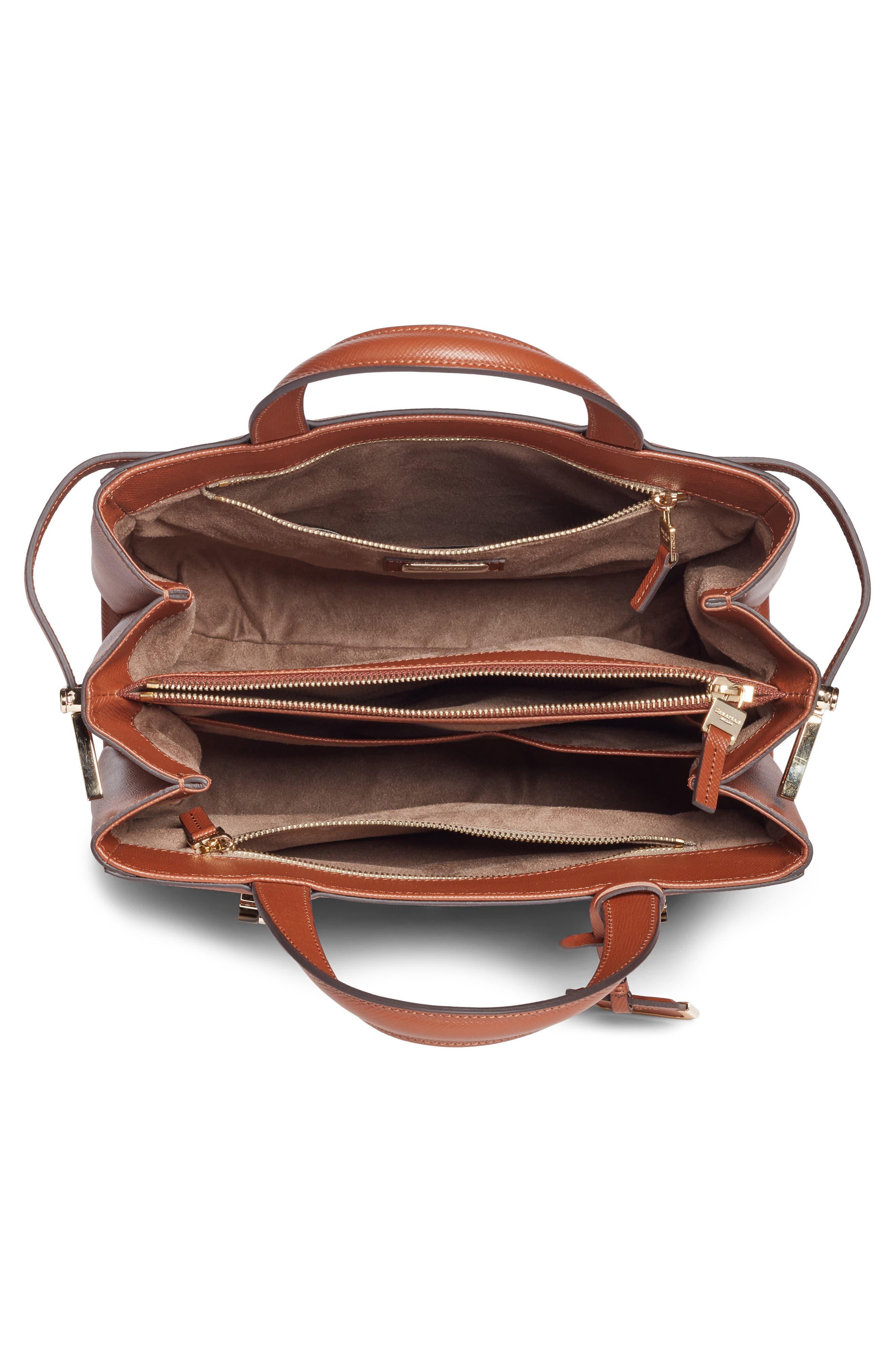 Small Meline Evolution Leather Bag,                             Alternate thumbnail 15, color,