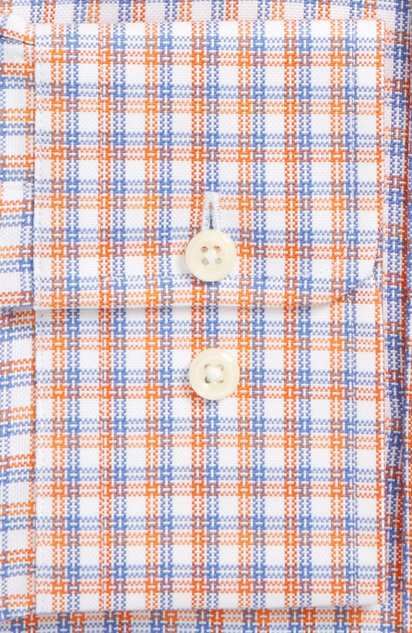 Regular Fit Plaid Dress Shirt,                             Alternate thumbnail 2, color,                             830