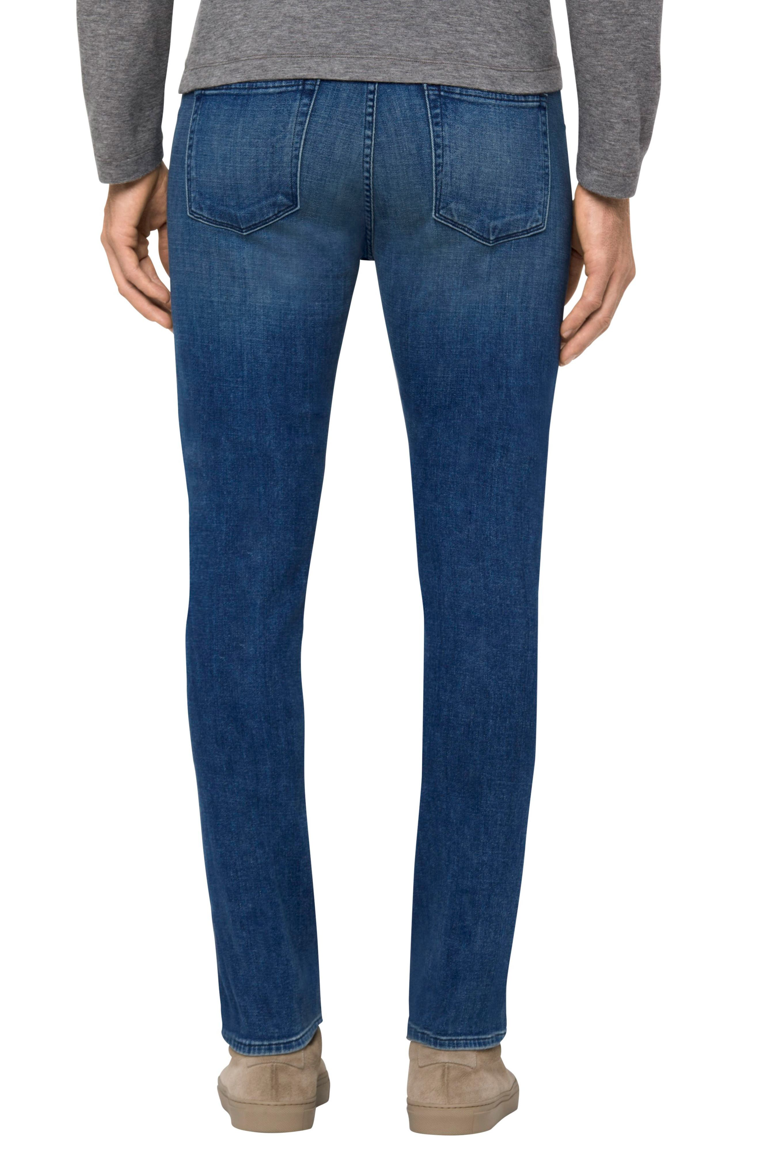 Tyler Slim Fit Jeans,                             Alternate thumbnail 2, color,                             402