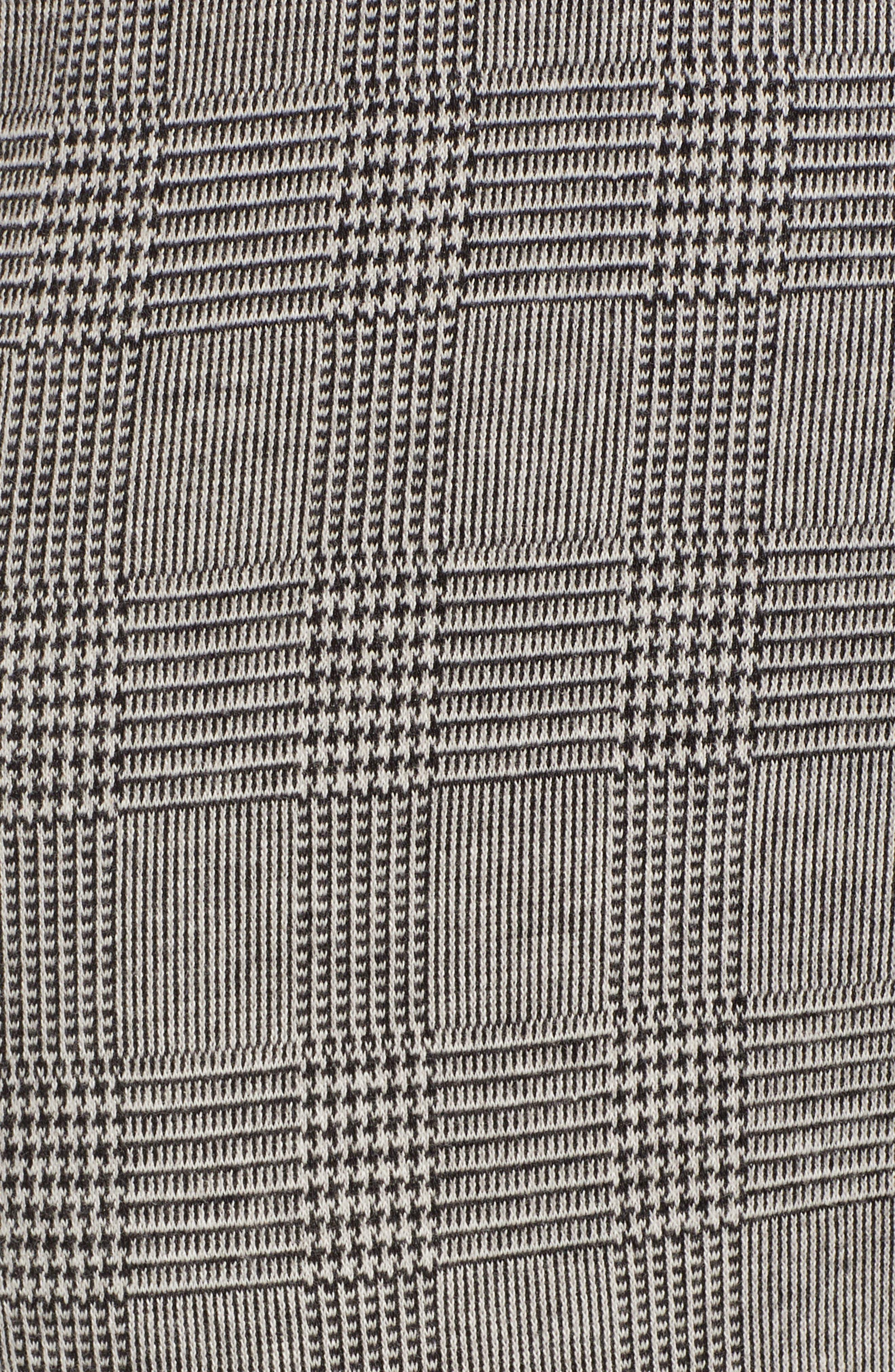 Plaid Leggings,                             Alternate thumbnail 6, color,                             001
