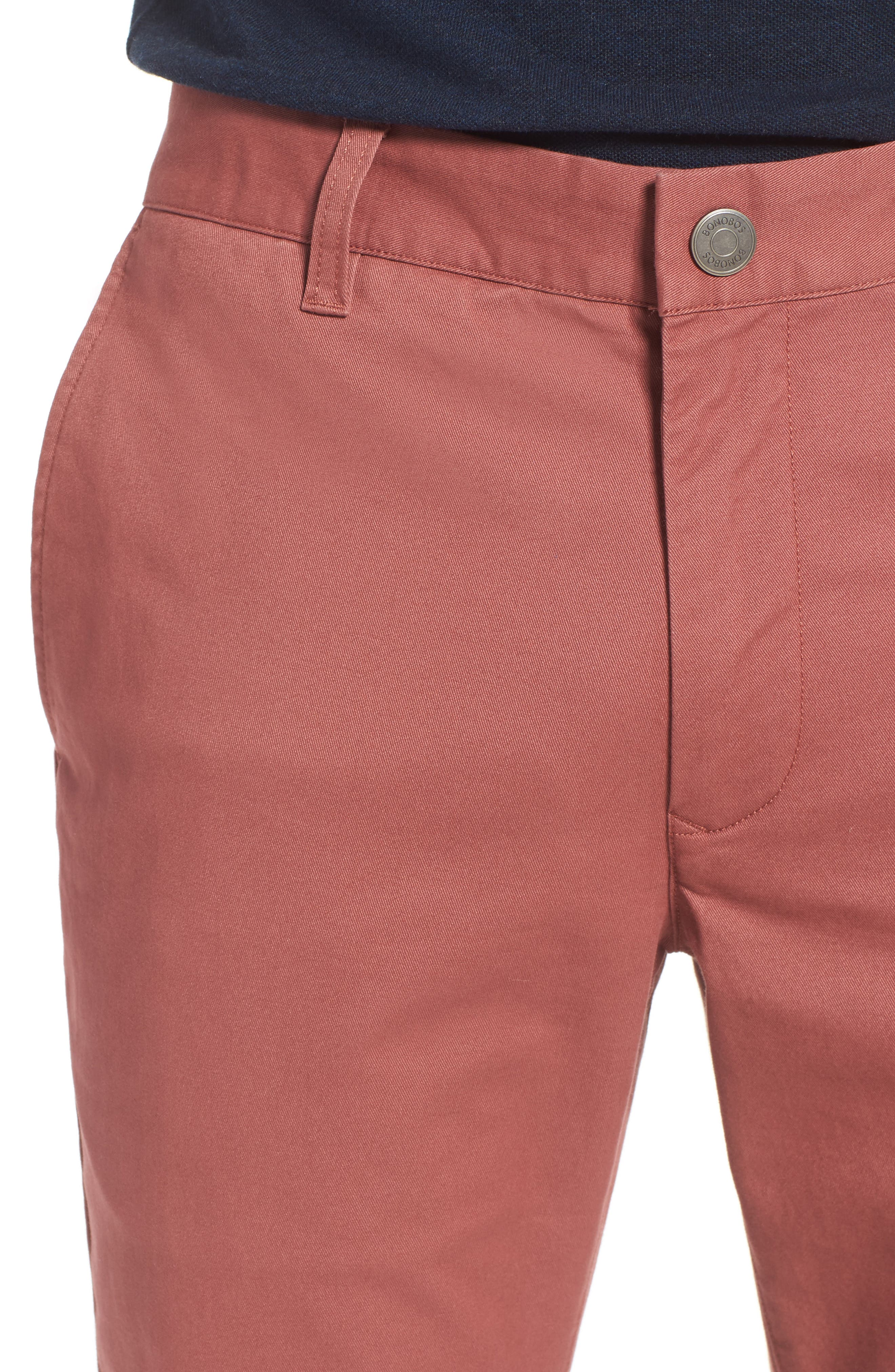 Tailored Fit Washed Stretch Cotton Chinos,                             Alternate thumbnail 139, color,