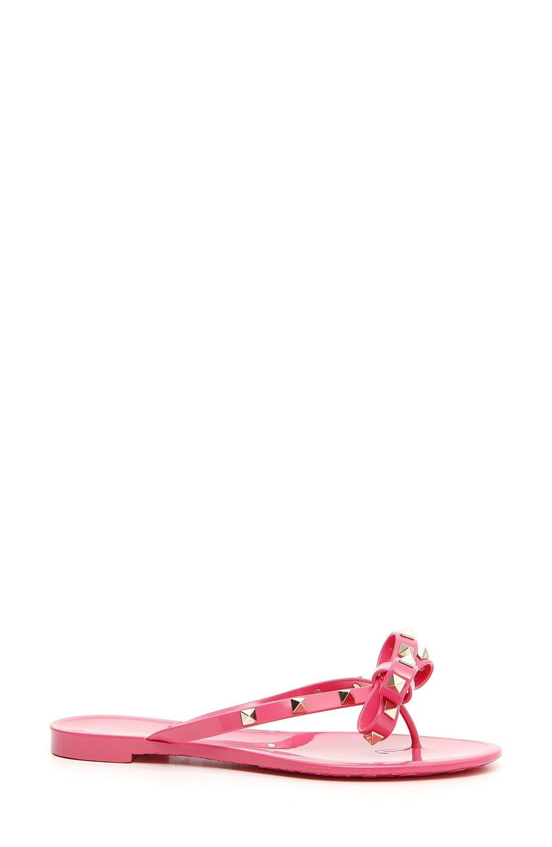 'Rockstud' Flip Flop,                             Main thumbnail 25, color,