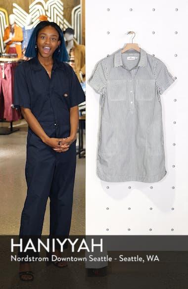 Stripe Utility Shirtdress, sales video thumbnail