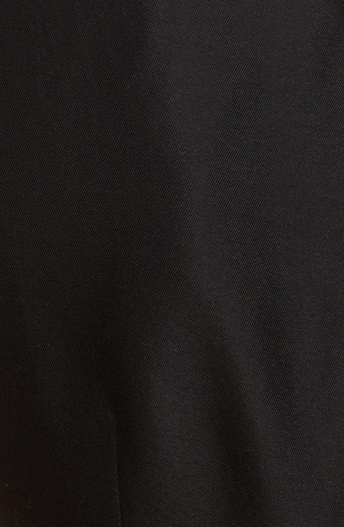 'heritage' sleeveless fit & flare dress,                             Alternate thumbnail 4, color,                             001