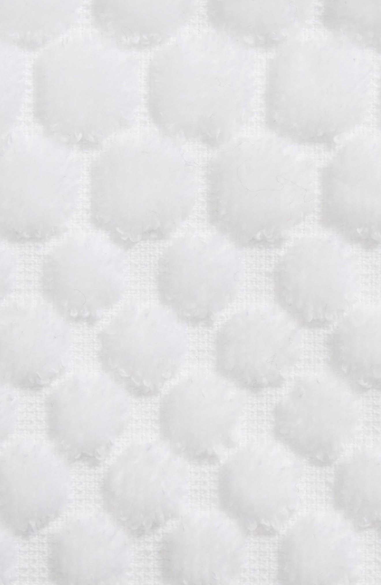 Lorenza Washcloth,                             Alternate thumbnail 2, color,                             WHITE
