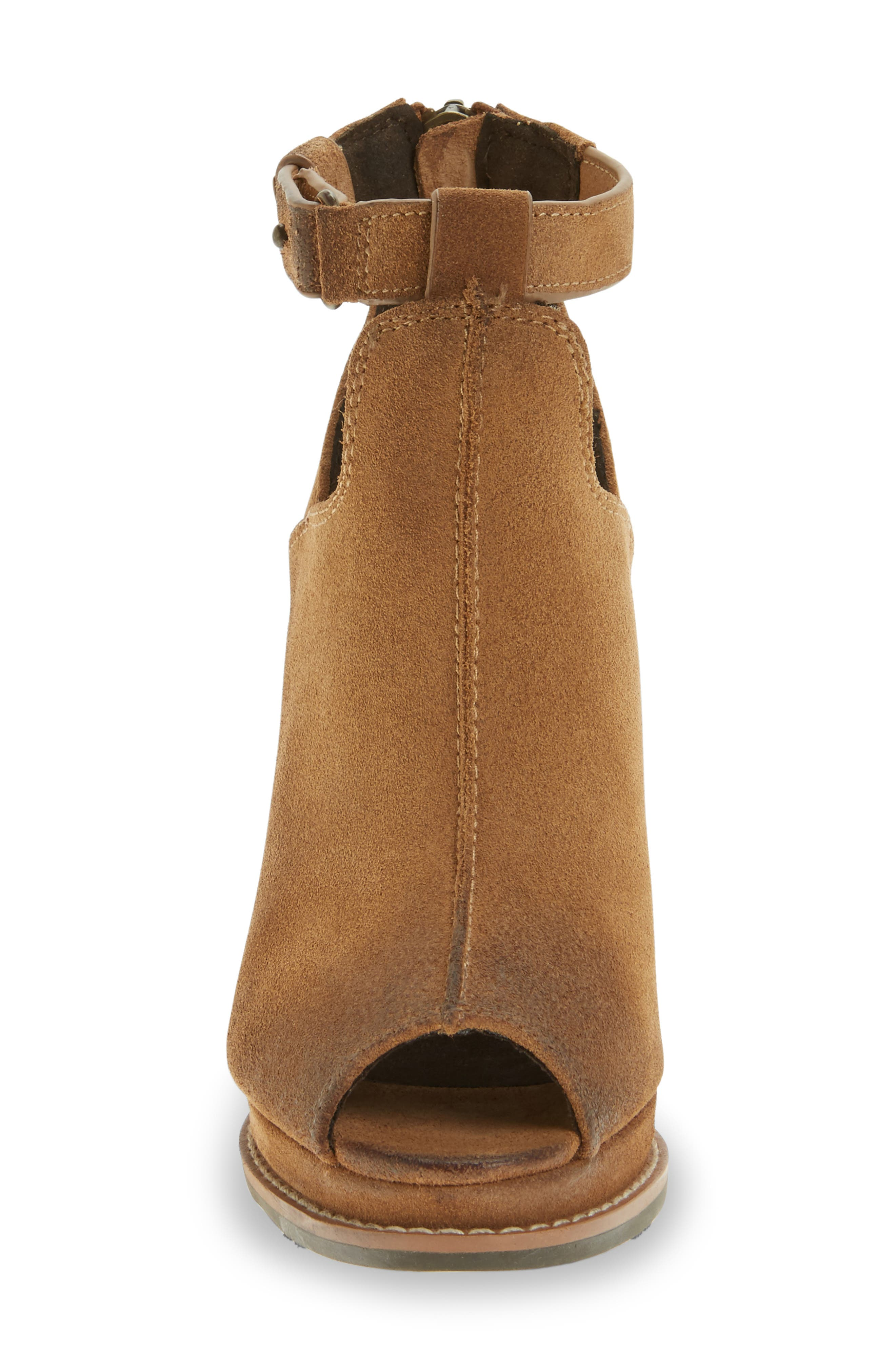 Backstage Wedge Bootie,                             Alternate thumbnail 6, color,