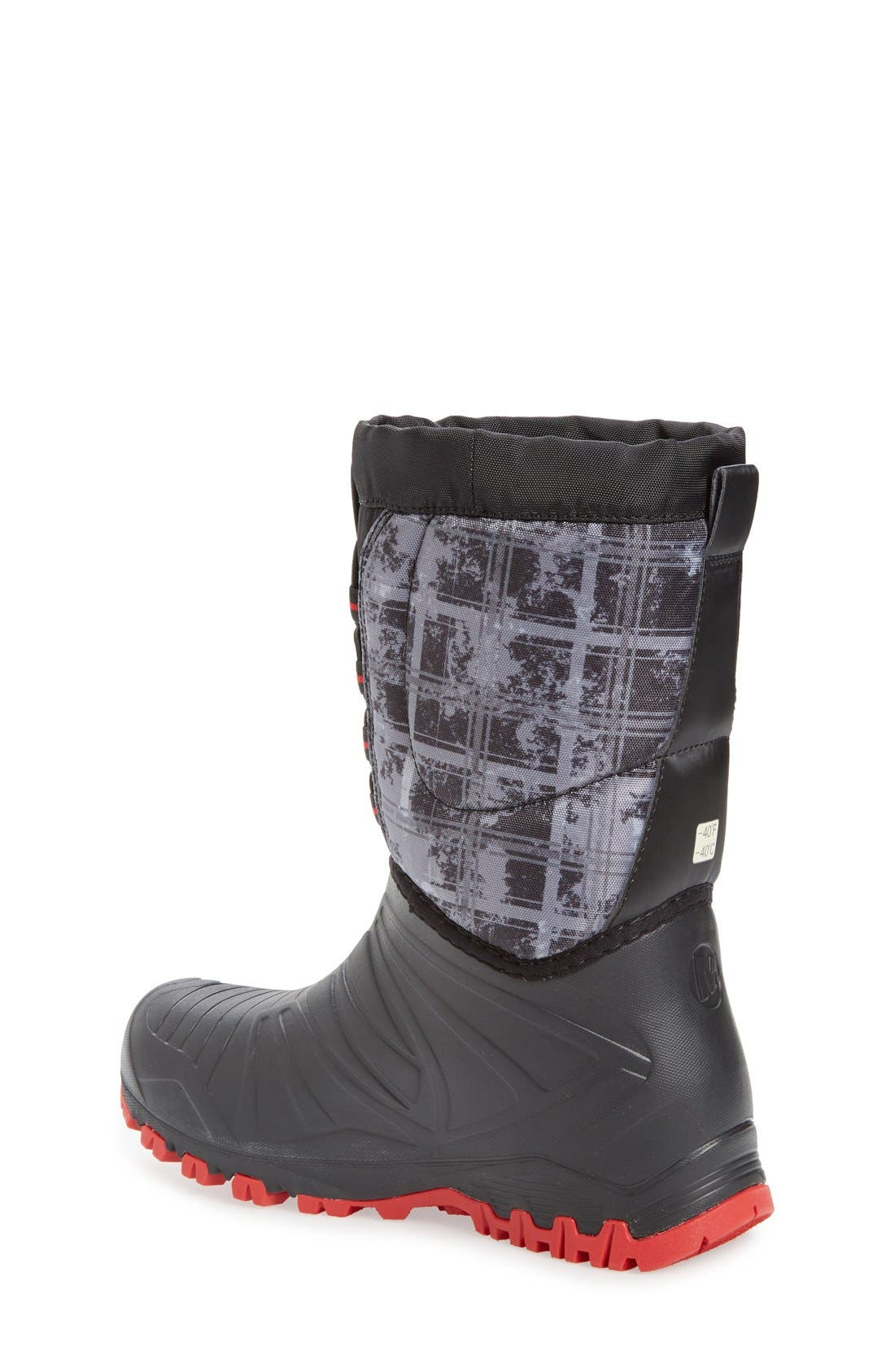'Snow Quest' Waterproof Boot,                             Alternate thumbnail 2, color,                             001