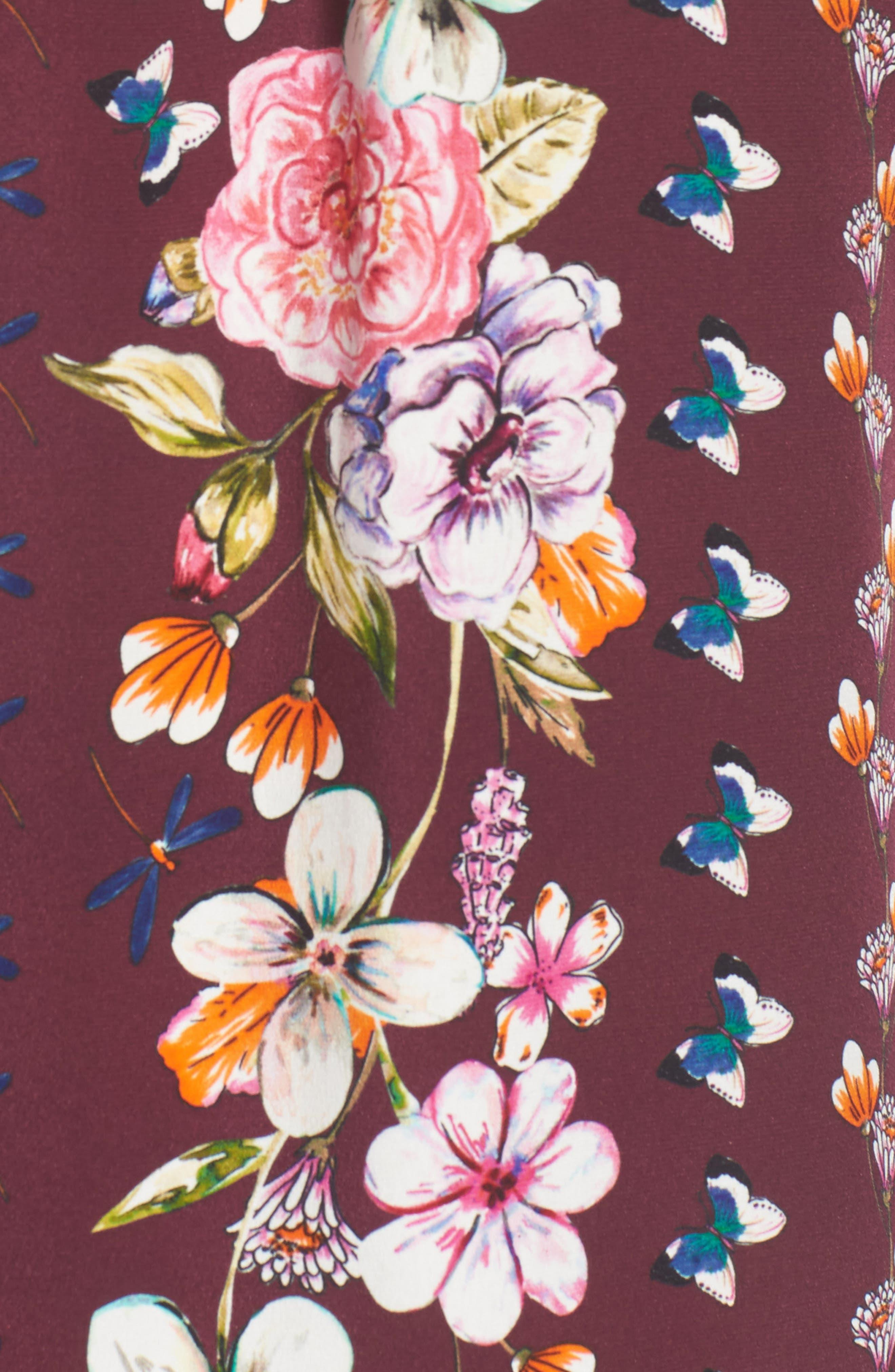 Kinsley Silk Blouse,                             Alternate thumbnail 5, color,                             932