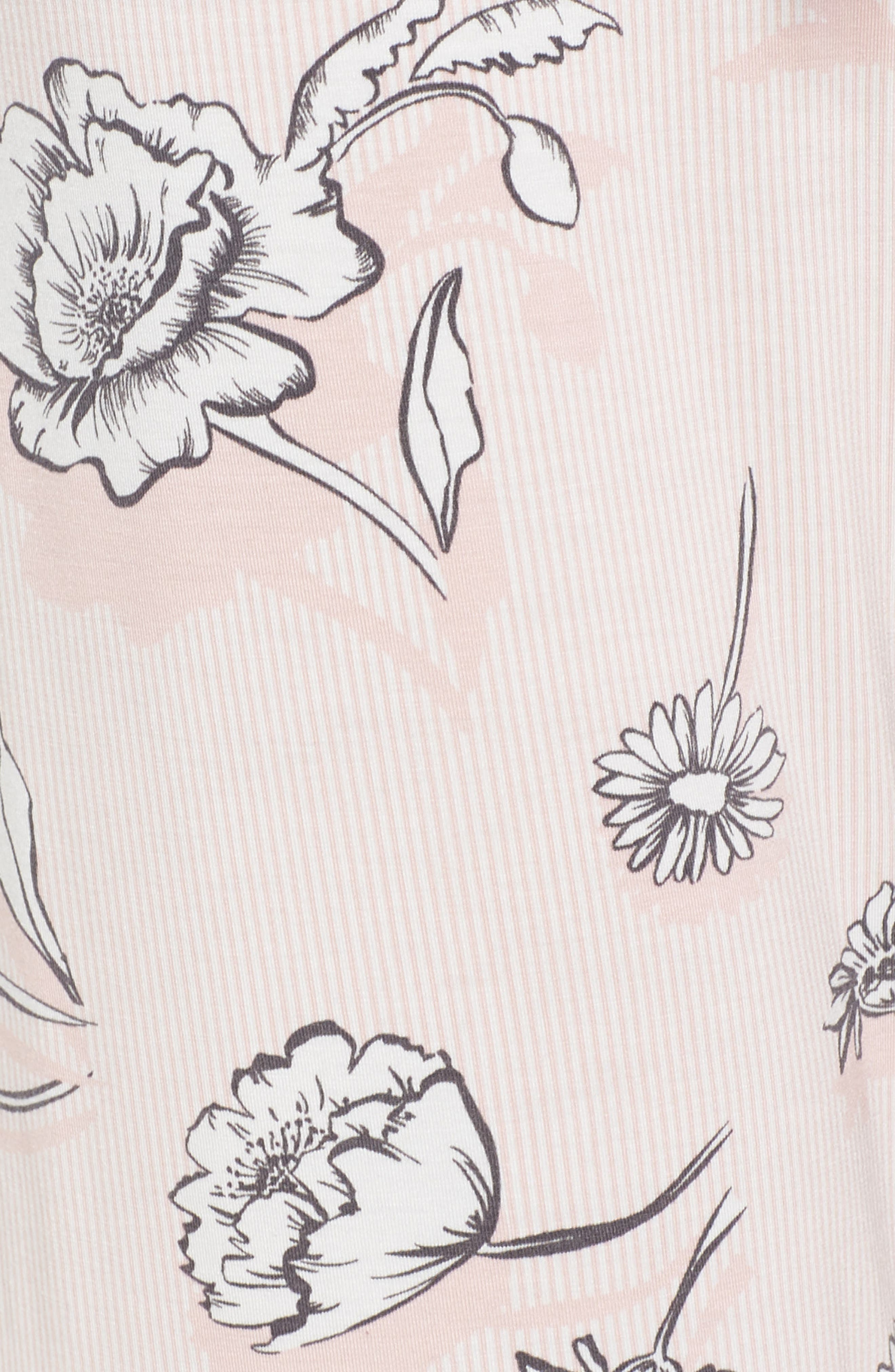 Floral Pajama Pants,                             Alternate thumbnail 5, color,                             650