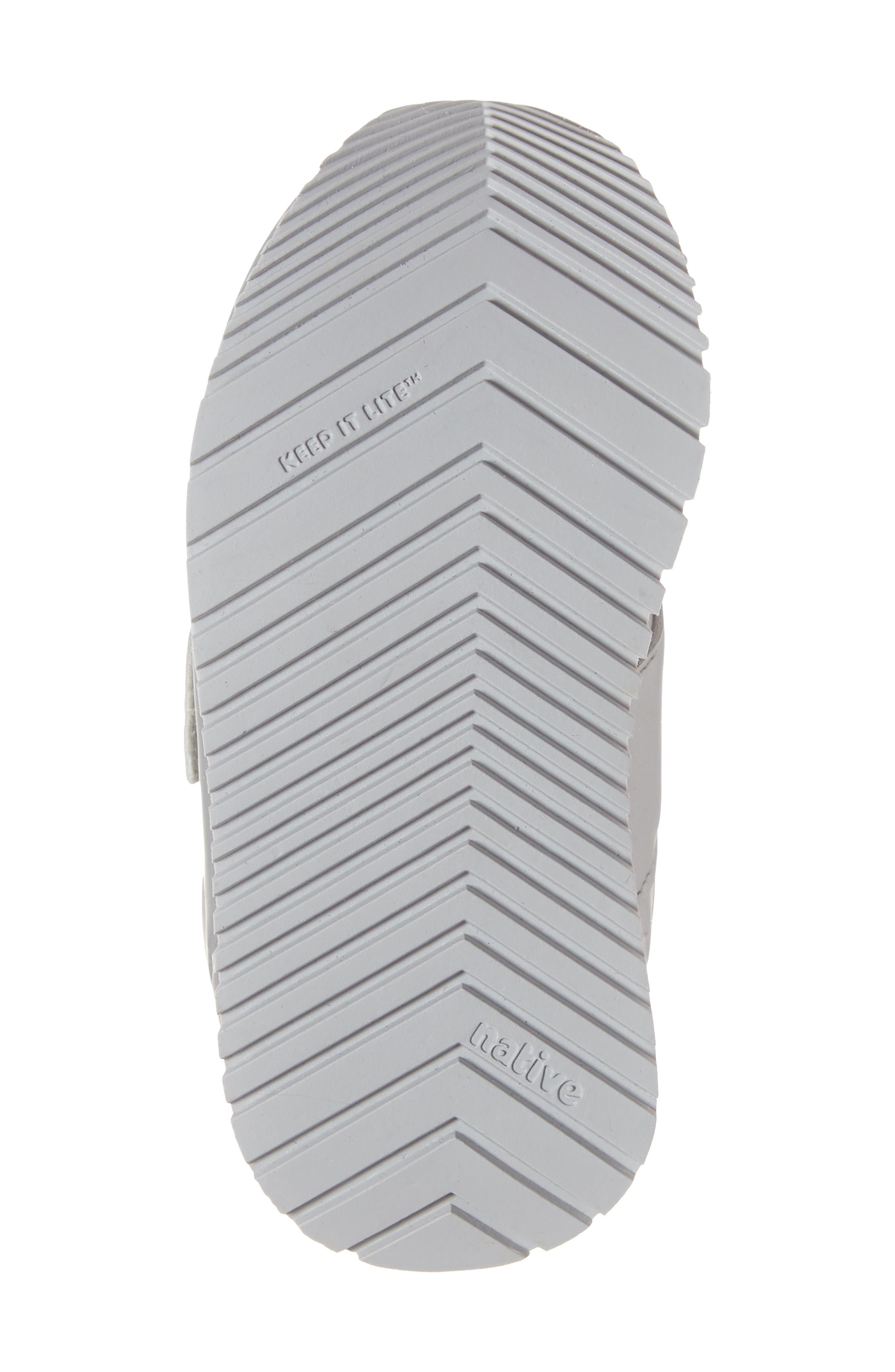 Cornell Perforated Metallic Sneaker,                             Alternate thumbnail 6, color,                             SILVER/ WHITE/ DUBLIN GREY