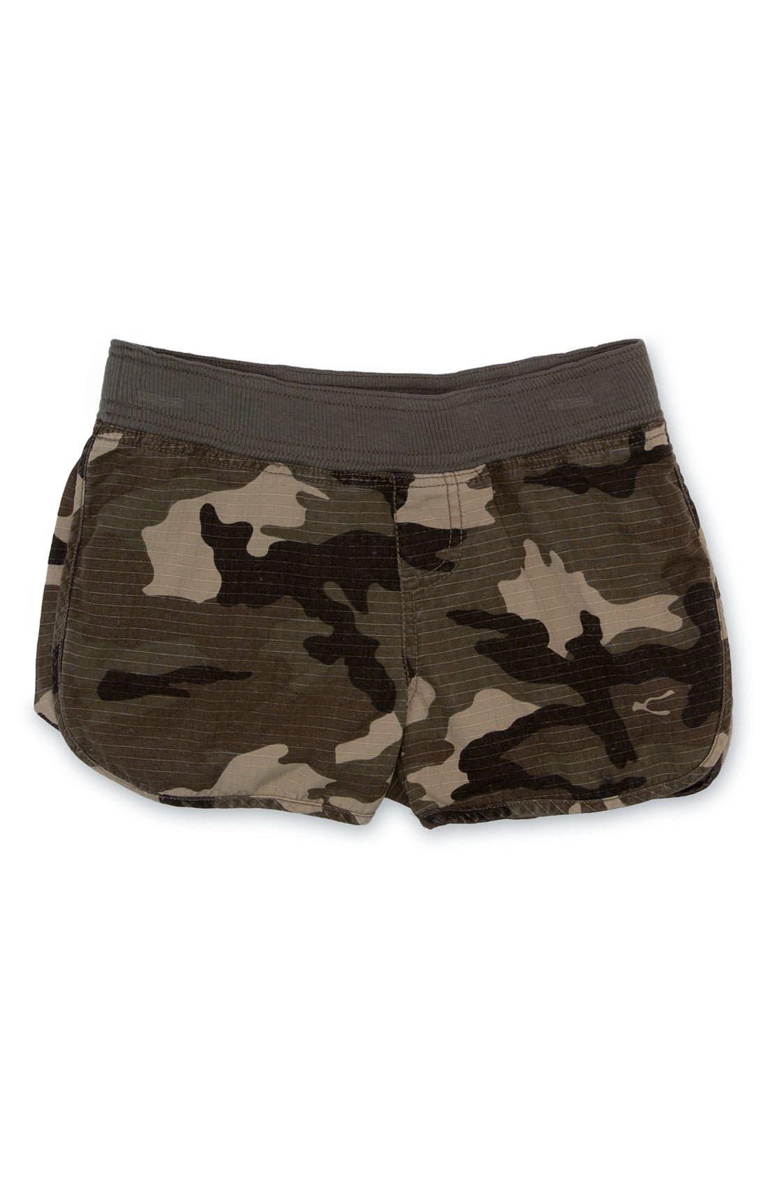 Peek 'Camo' Shorts, Main, color, 301