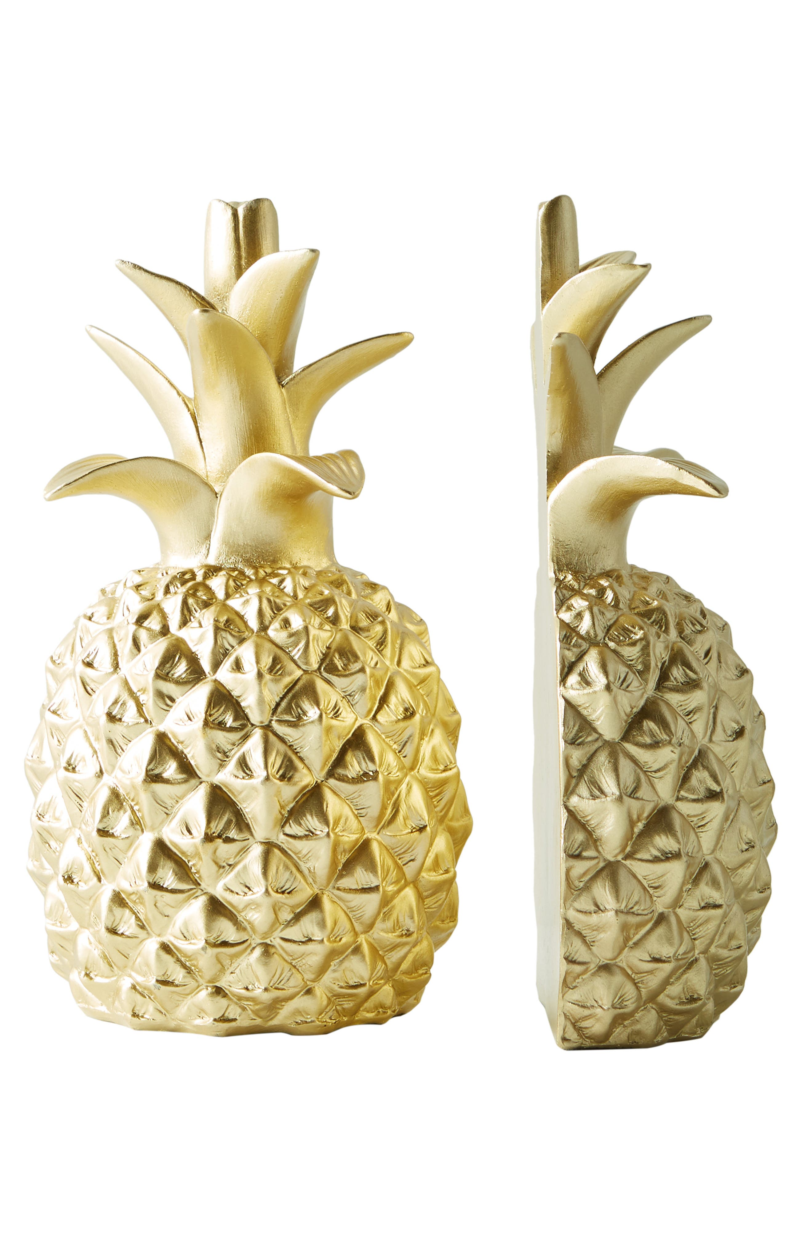 Pineapple Bookends,                             Alternate thumbnail 3, color,                             700