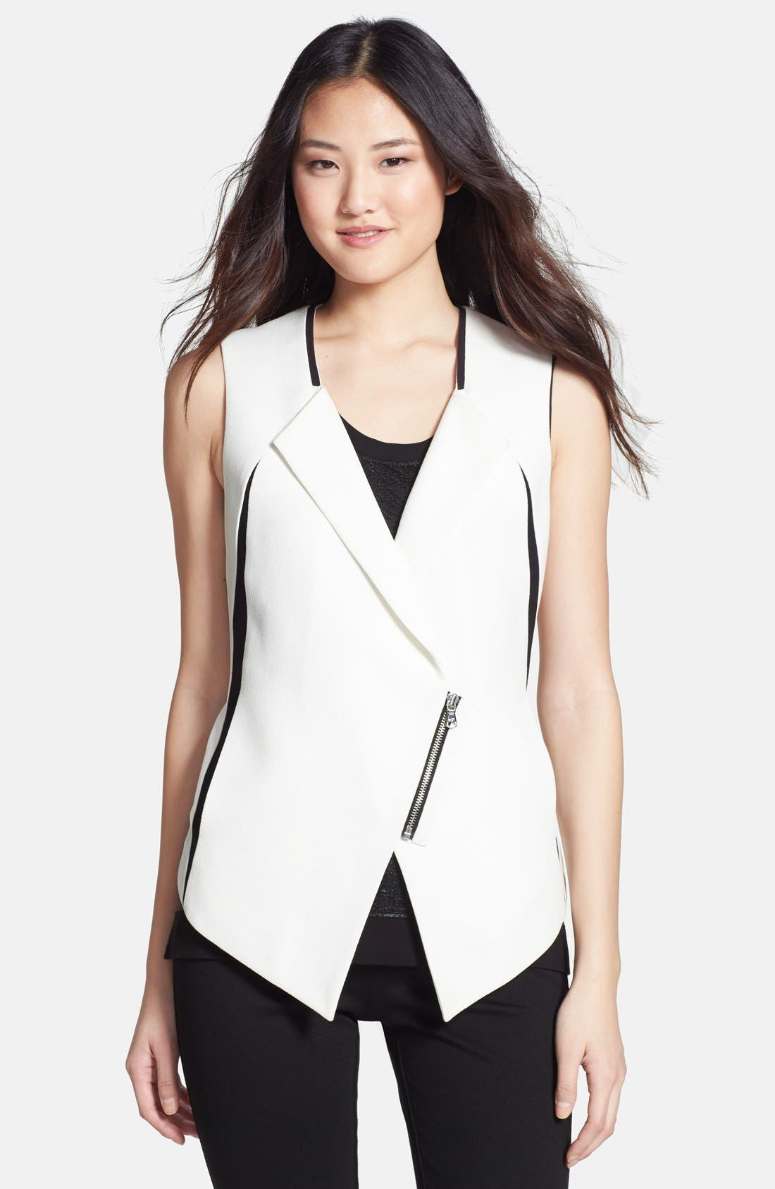 KENNETH COLE NEW YORK,                             'Daisy' Vest,                             Main thumbnail 1, color,                             900