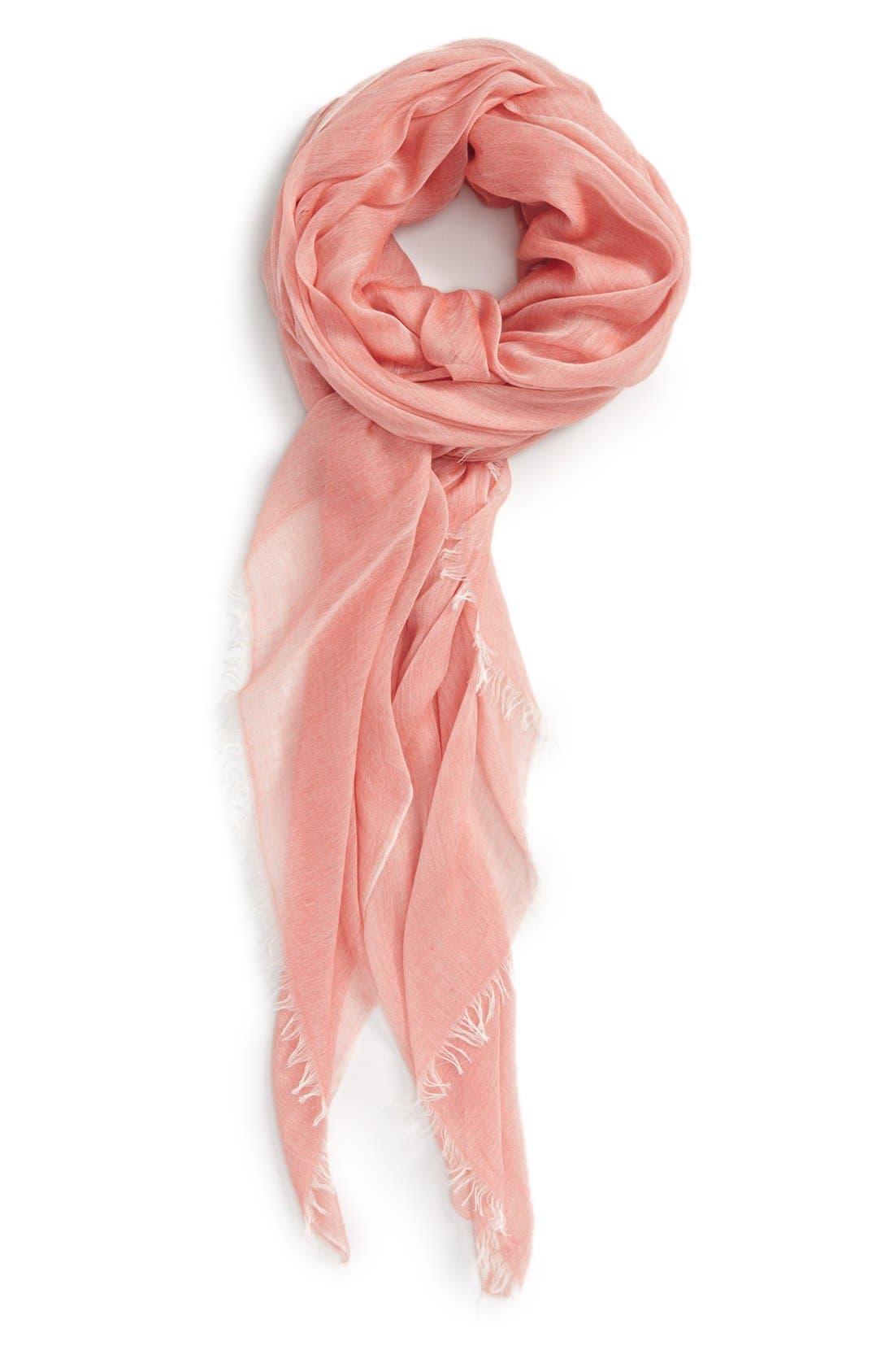 Modal Silk Blend Scarf,                             Main thumbnail 30, color,