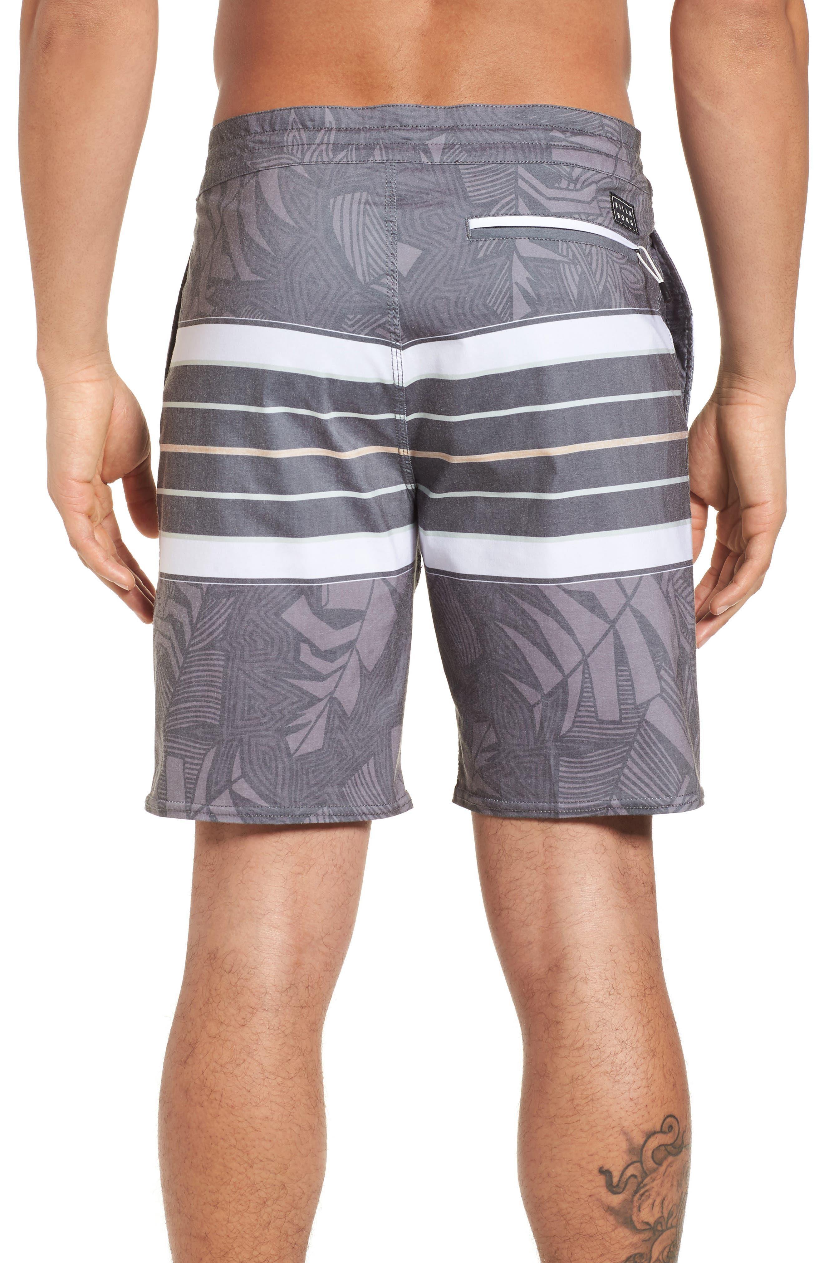 Stringer Lo Tides Board Shorts,                             Alternate thumbnail 2, color,                             001