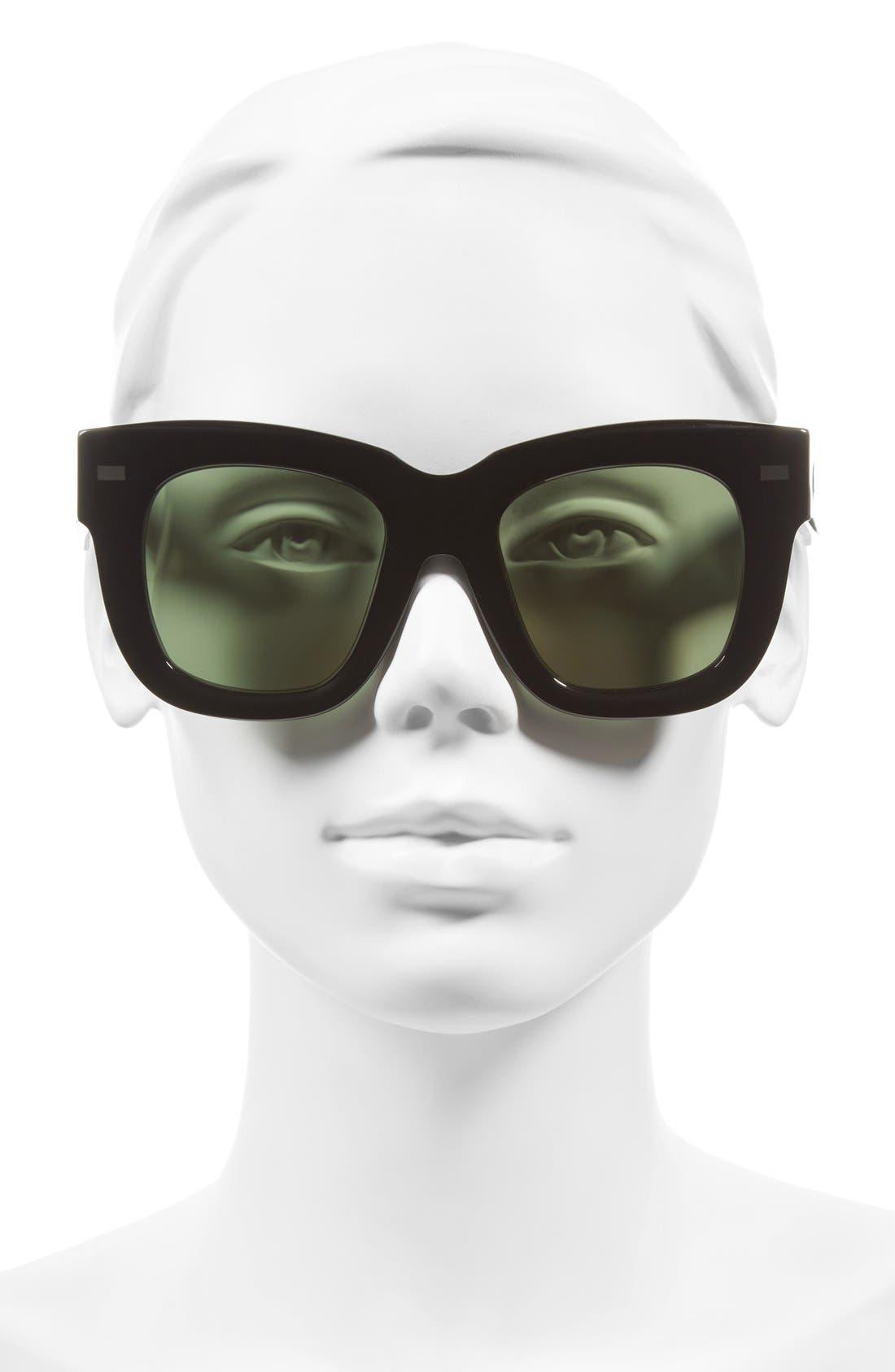 Library 51mm Sunglasses,                             Alternate thumbnail 2, color,                             001