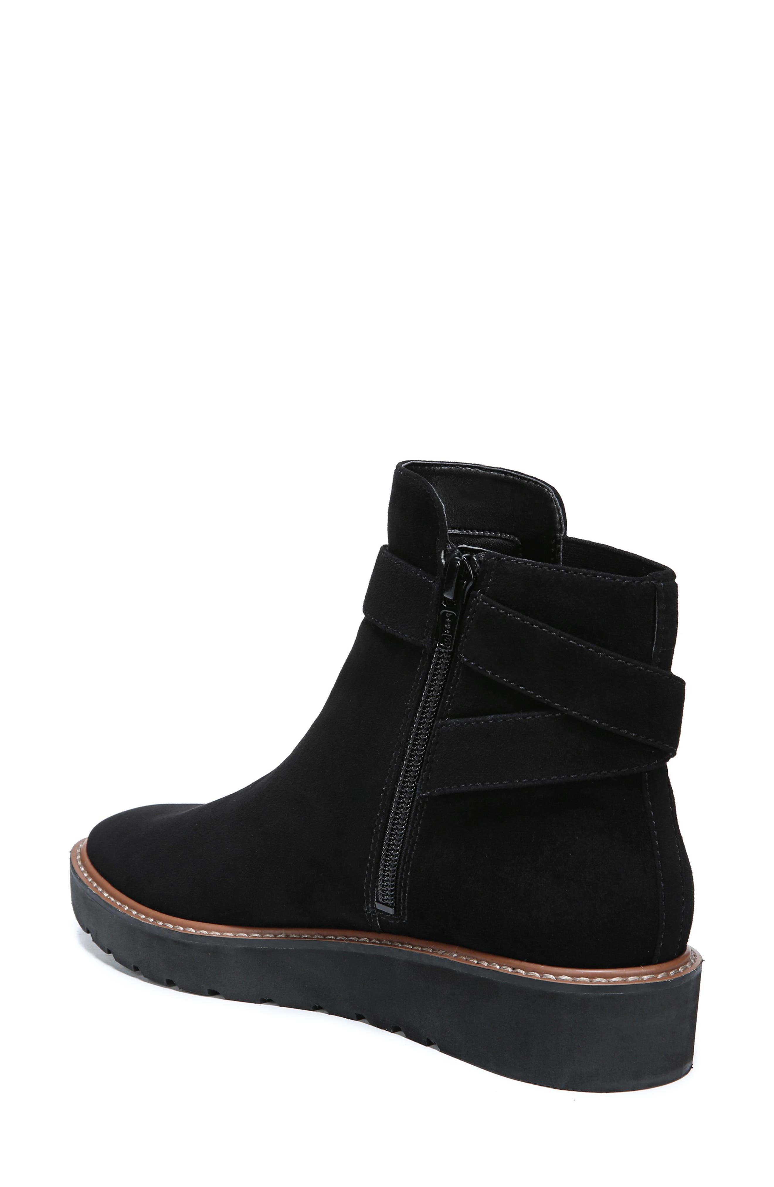 Aster Bootie,                             Alternate thumbnail 2, color,                             BLACK SUEDE