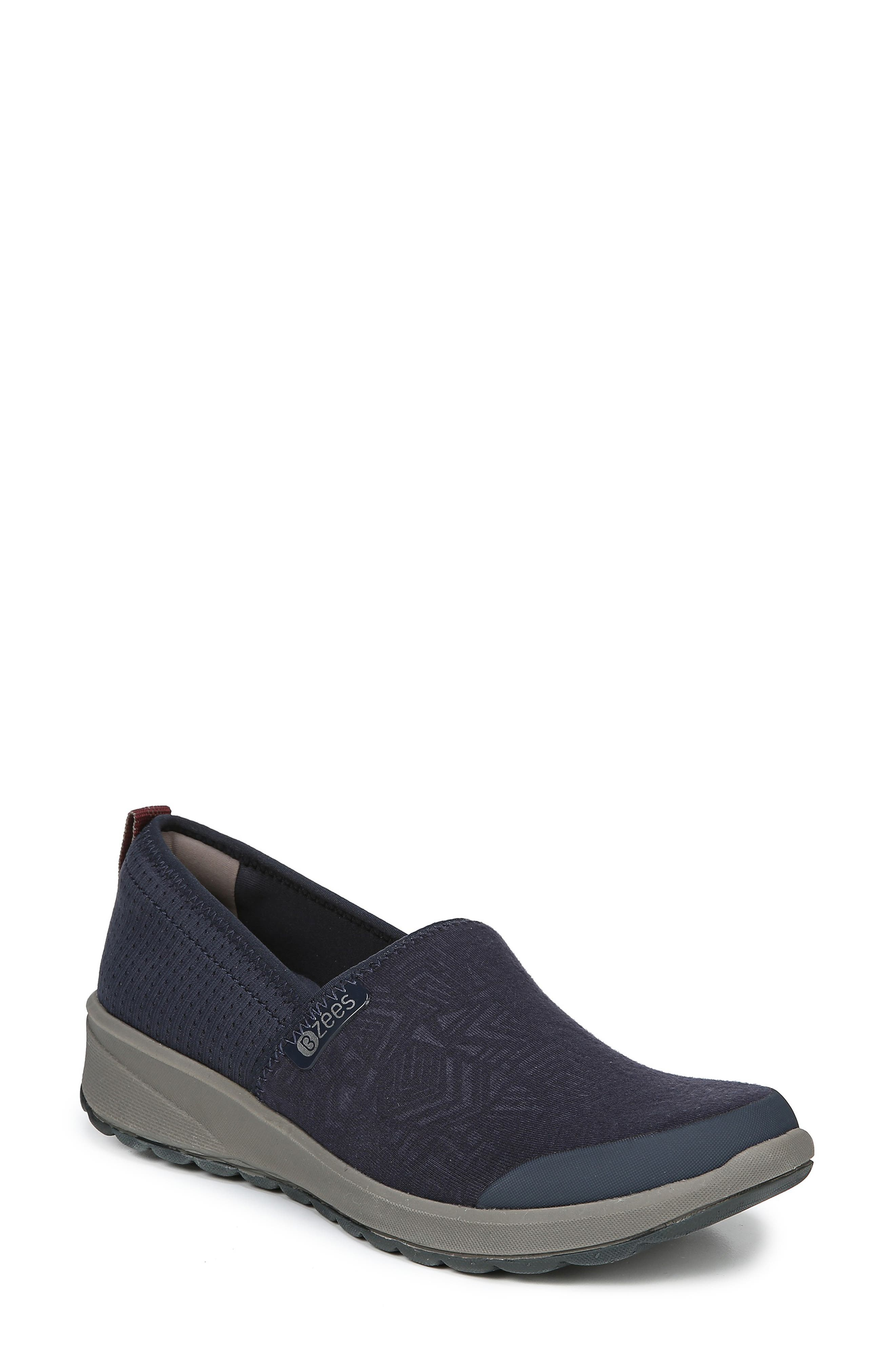 Glee Slip-On Sneaker,                         Main,                         color, NAVY GEO FABRIC
