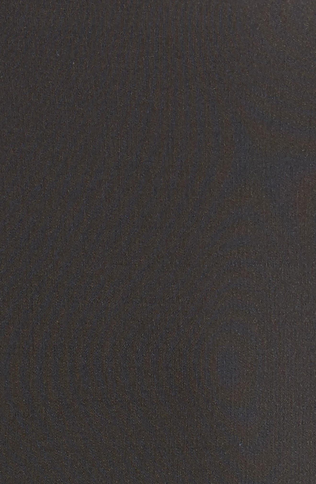 Stretch Pebble Crepe Bolero Sheath Dress,                             Alternate thumbnail 6, color,