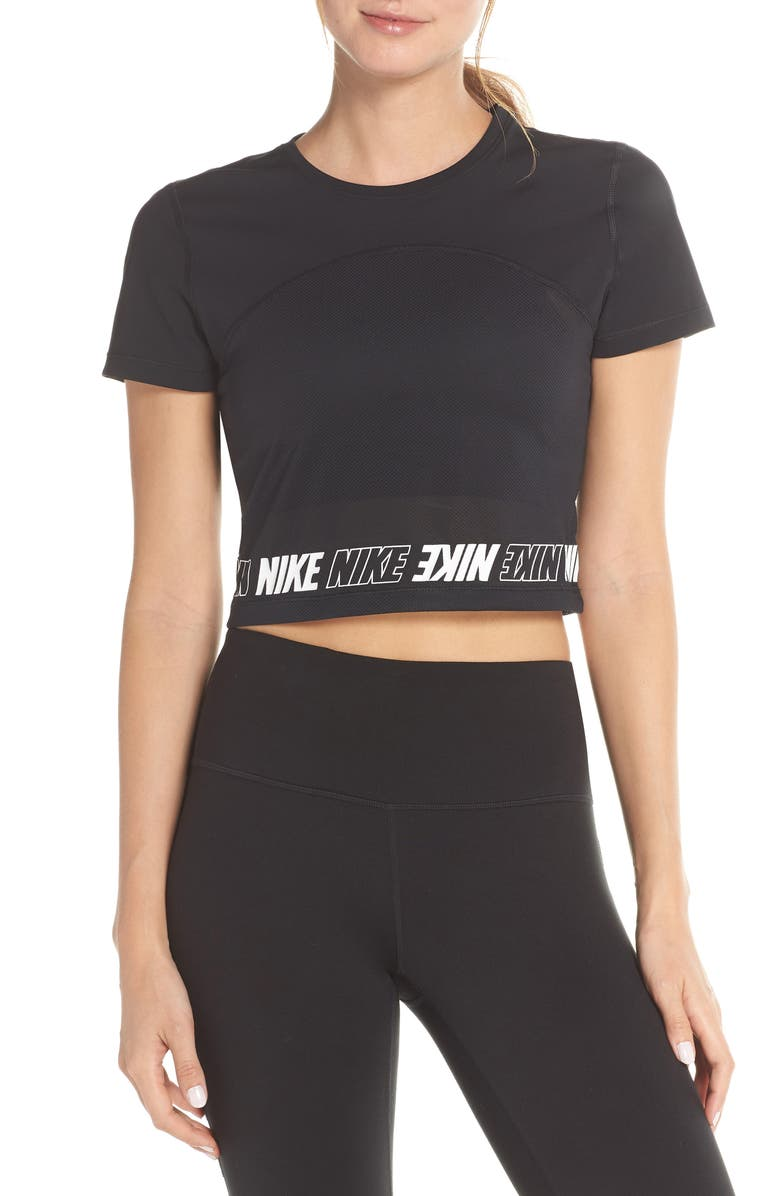 5a45f12229380 Nike Dry Pro Crop Top