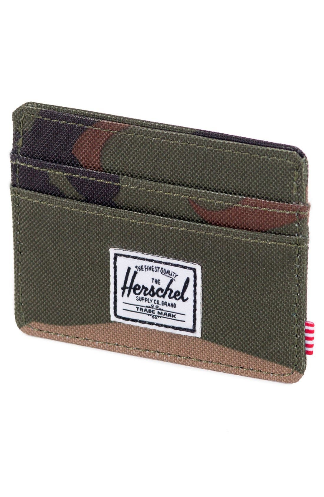 HERSCHEL SUPPLY CO.,                             'Charlie' Card Case,                             Alternate thumbnail 4, color,                             353