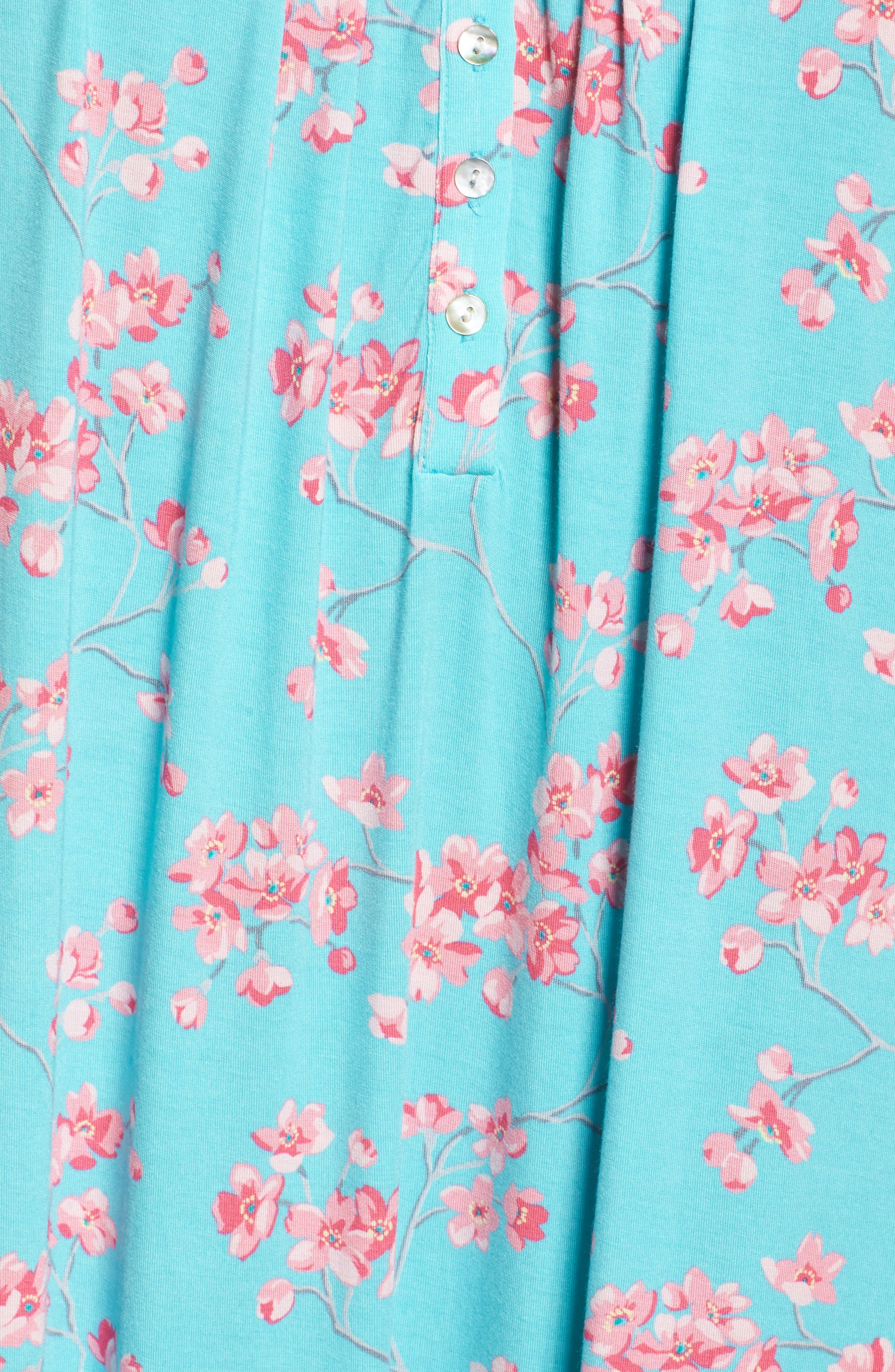 Jersey Waltz Nightgown,                             Alternate thumbnail 9, color,