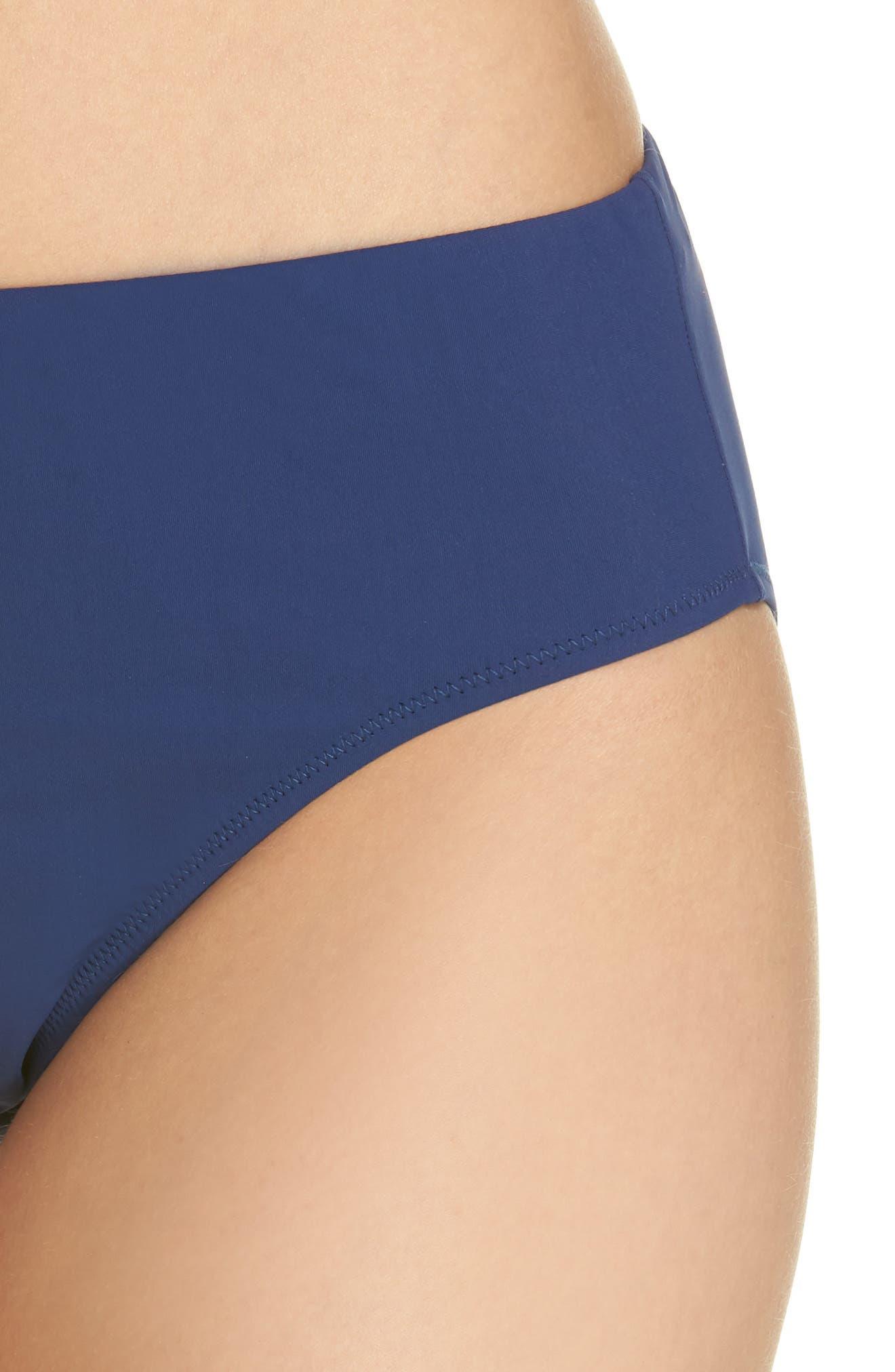 PROFILE BY GOTTEX,                             Hipster Bikini Bottoms,                             Alternate thumbnail 4, color,                             427