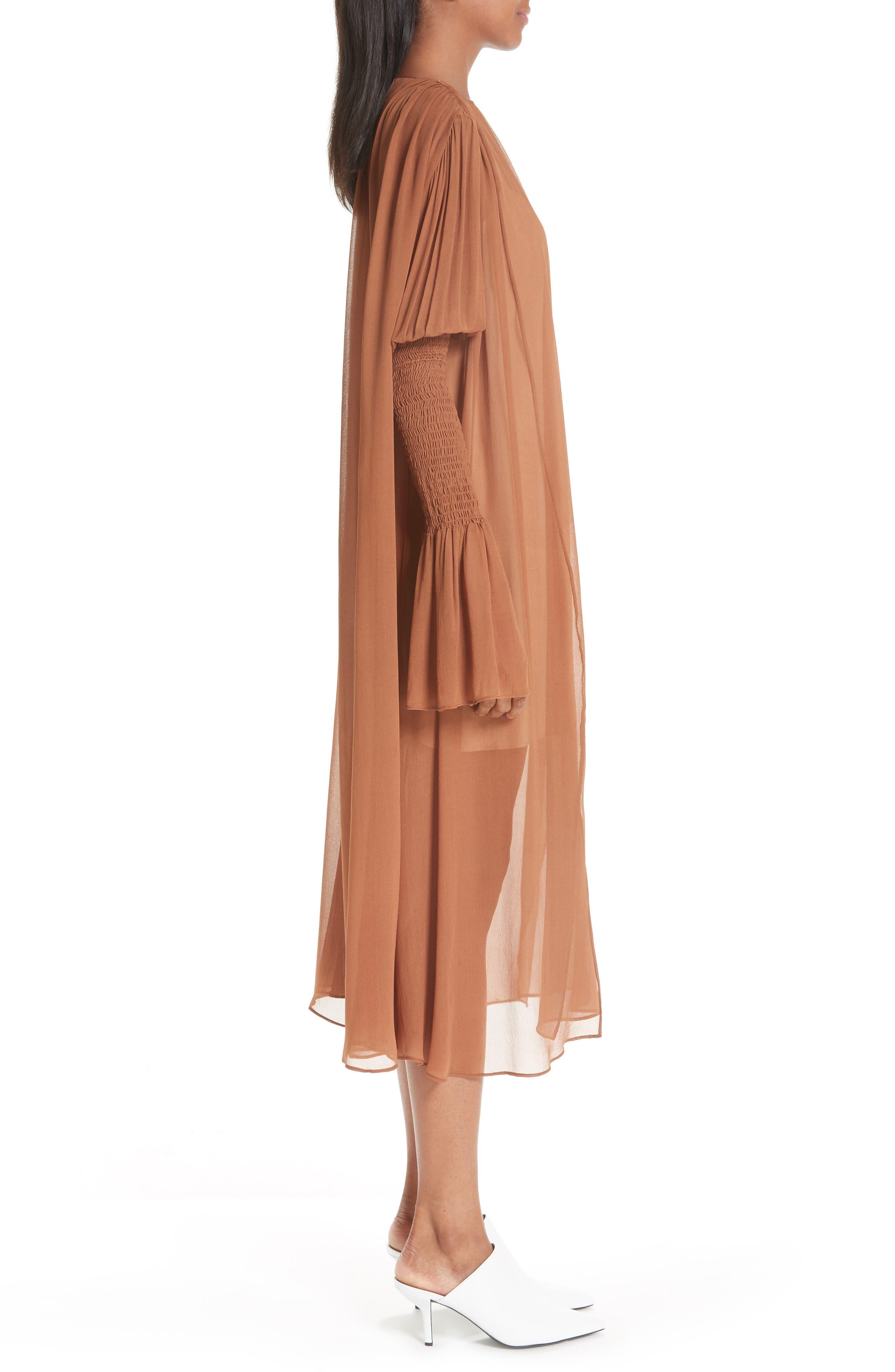 CIENNE,                             The Costa Silk Dress,                             Alternate thumbnail 3, color,                             200