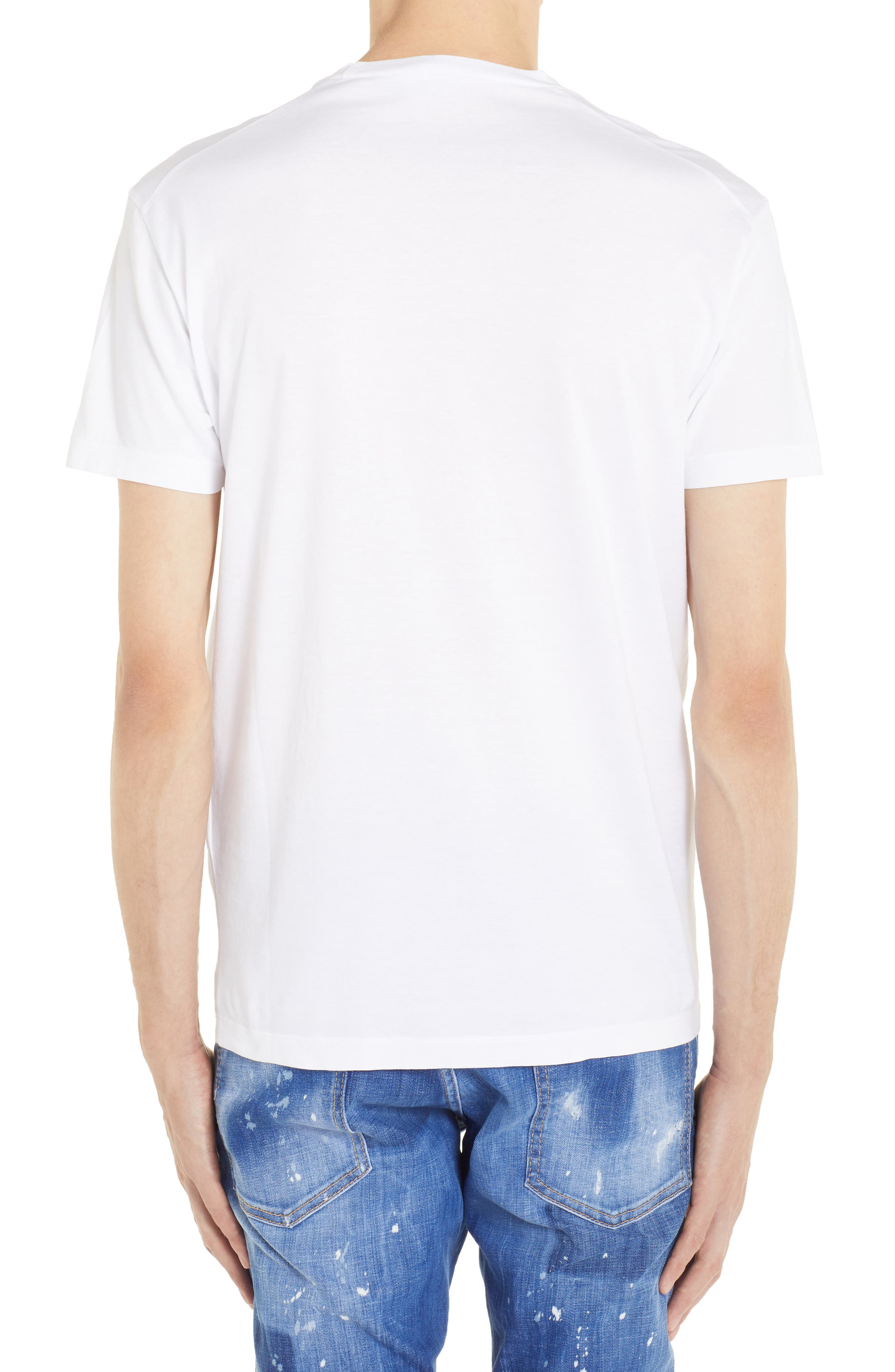 Rodeo Graphic T-Shirt,                             Alternate thumbnail 2, color,                             WHITE