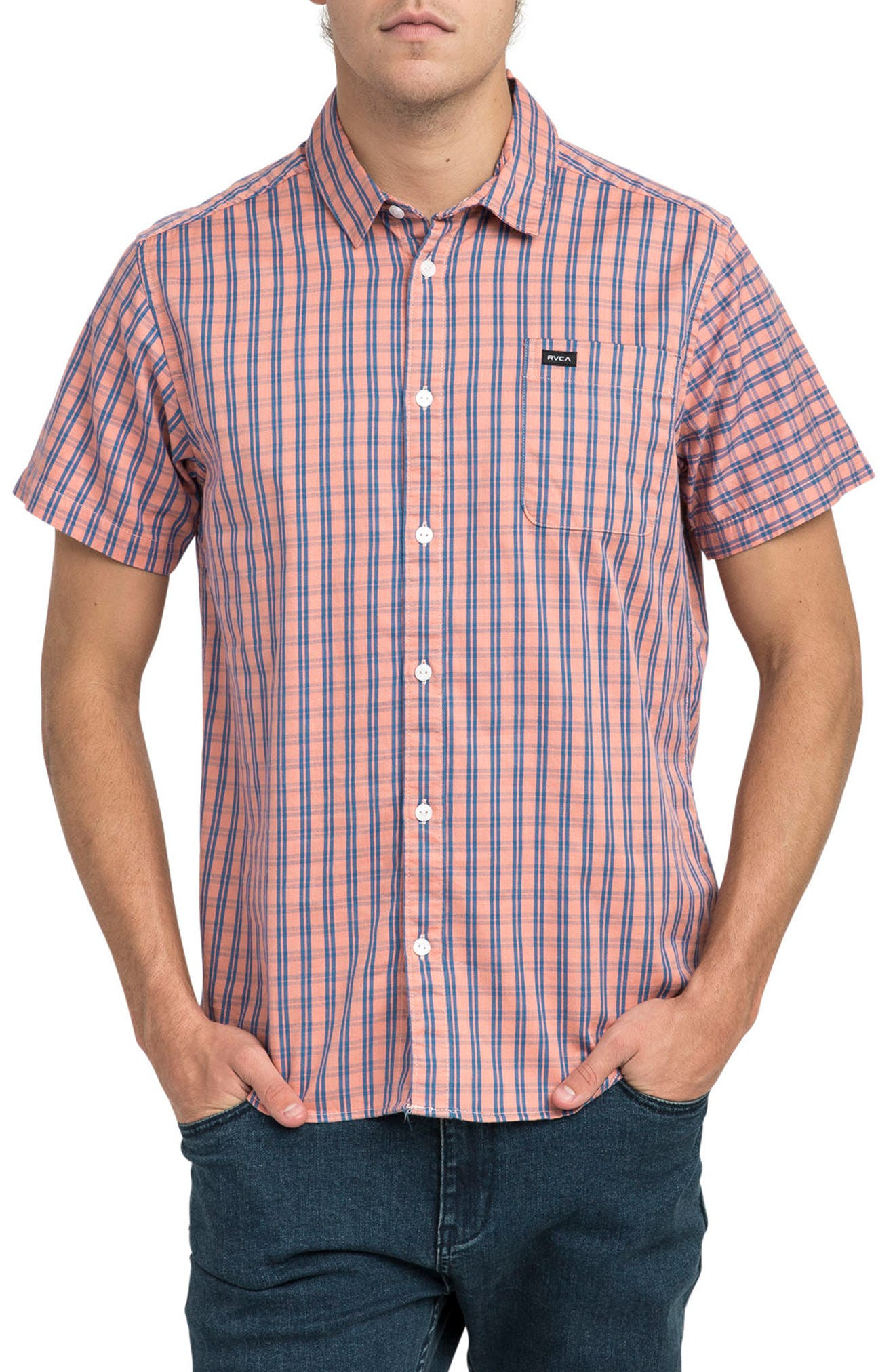 Delivery Woven Shirt,                             Main thumbnail 1, color,                             200
