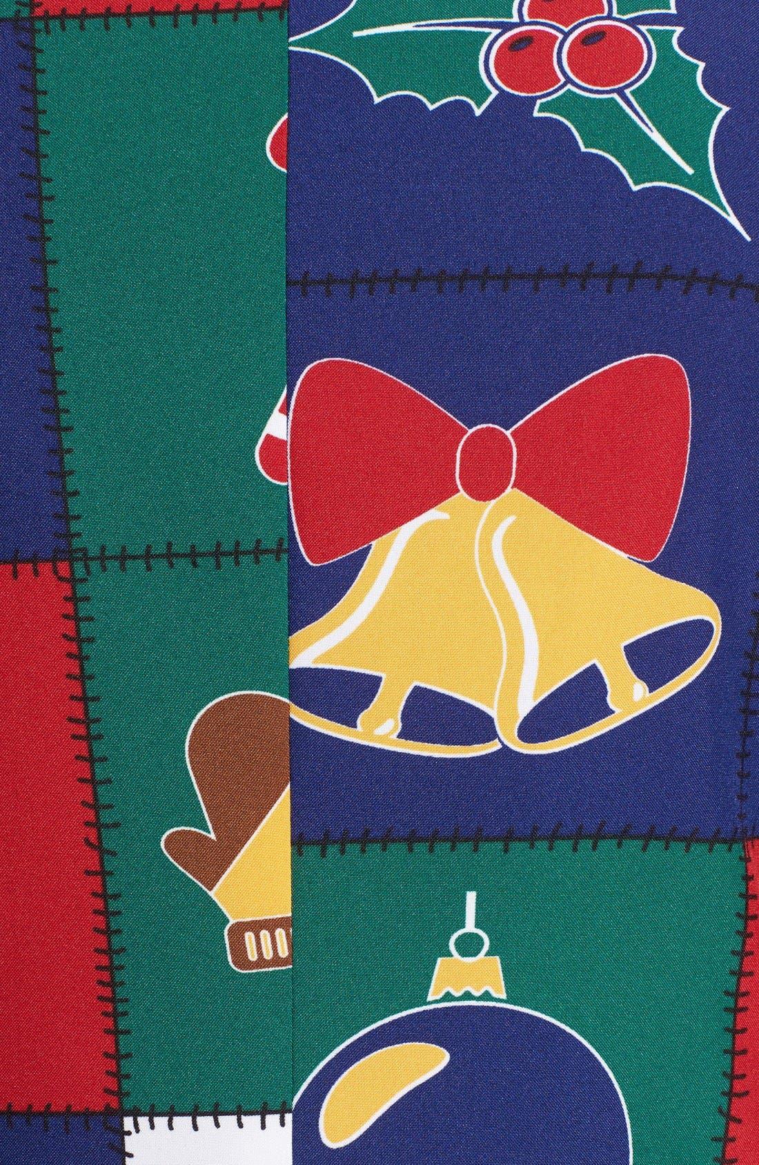 'Quilty Pleasure' Holiday Suit & Tie,                             Alternate thumbnail 4, color,                             300