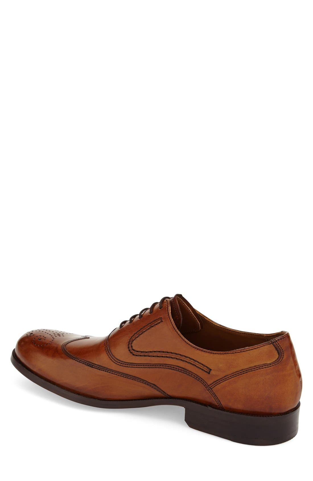 'Stratton' Wingtip Oxford,                             Alternate thumbnail 2, color,                             240