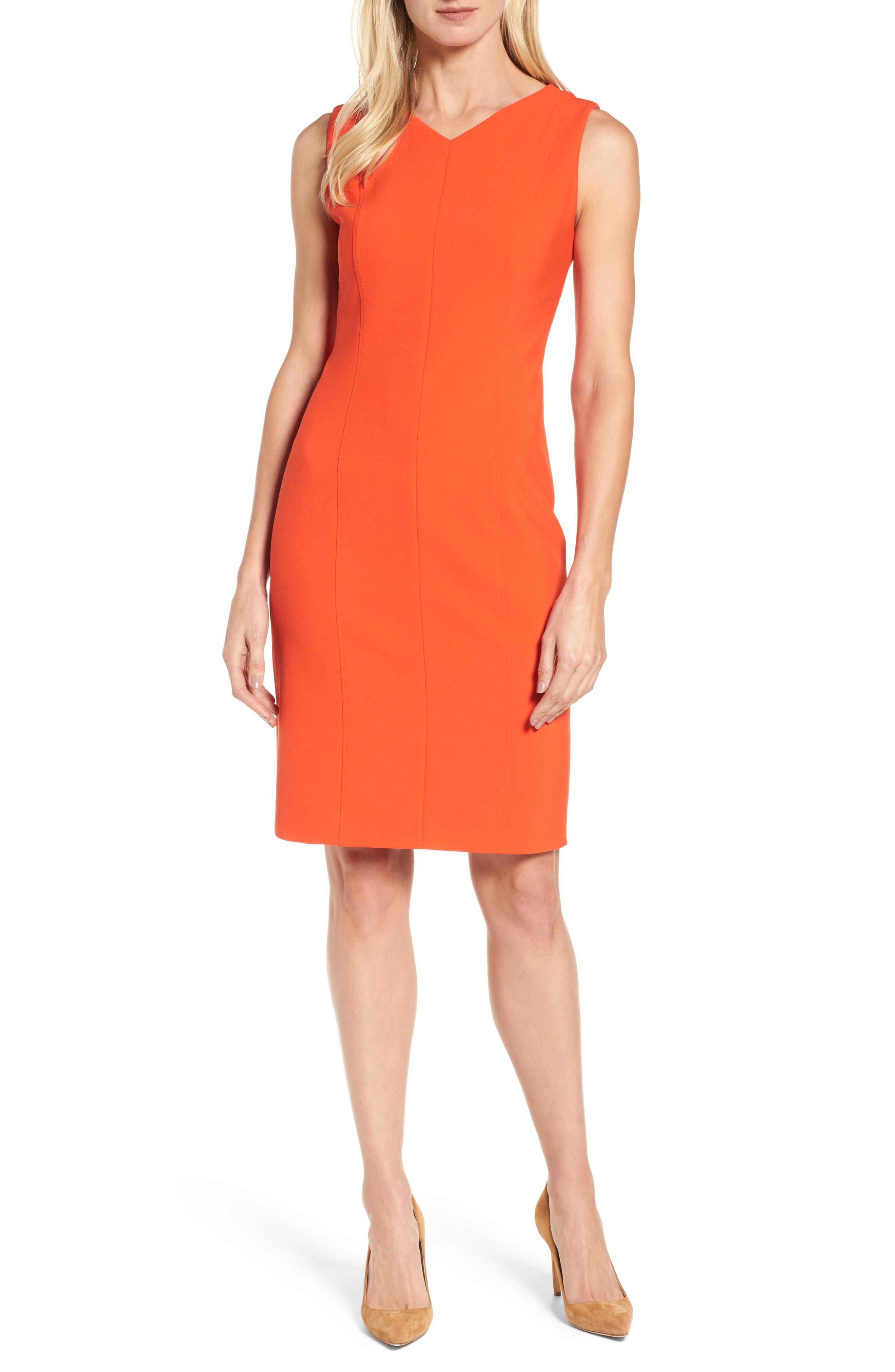 Delafea Sheath Dress,                         Main,                         color, 625