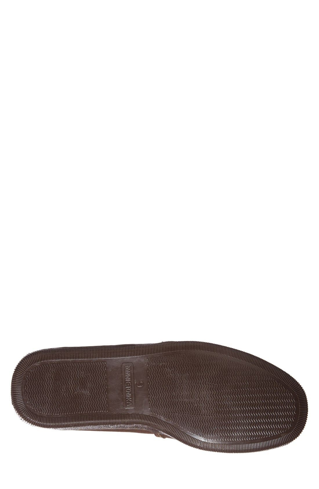 Suede Slipper,                             Alternate thumbnail 2, color,                             CHOCOLATE