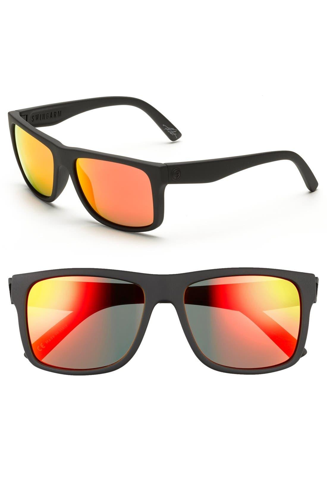 'Swingarm' 57mm Sunglasses,                             Alternate thumbnail 2, color,                             020
