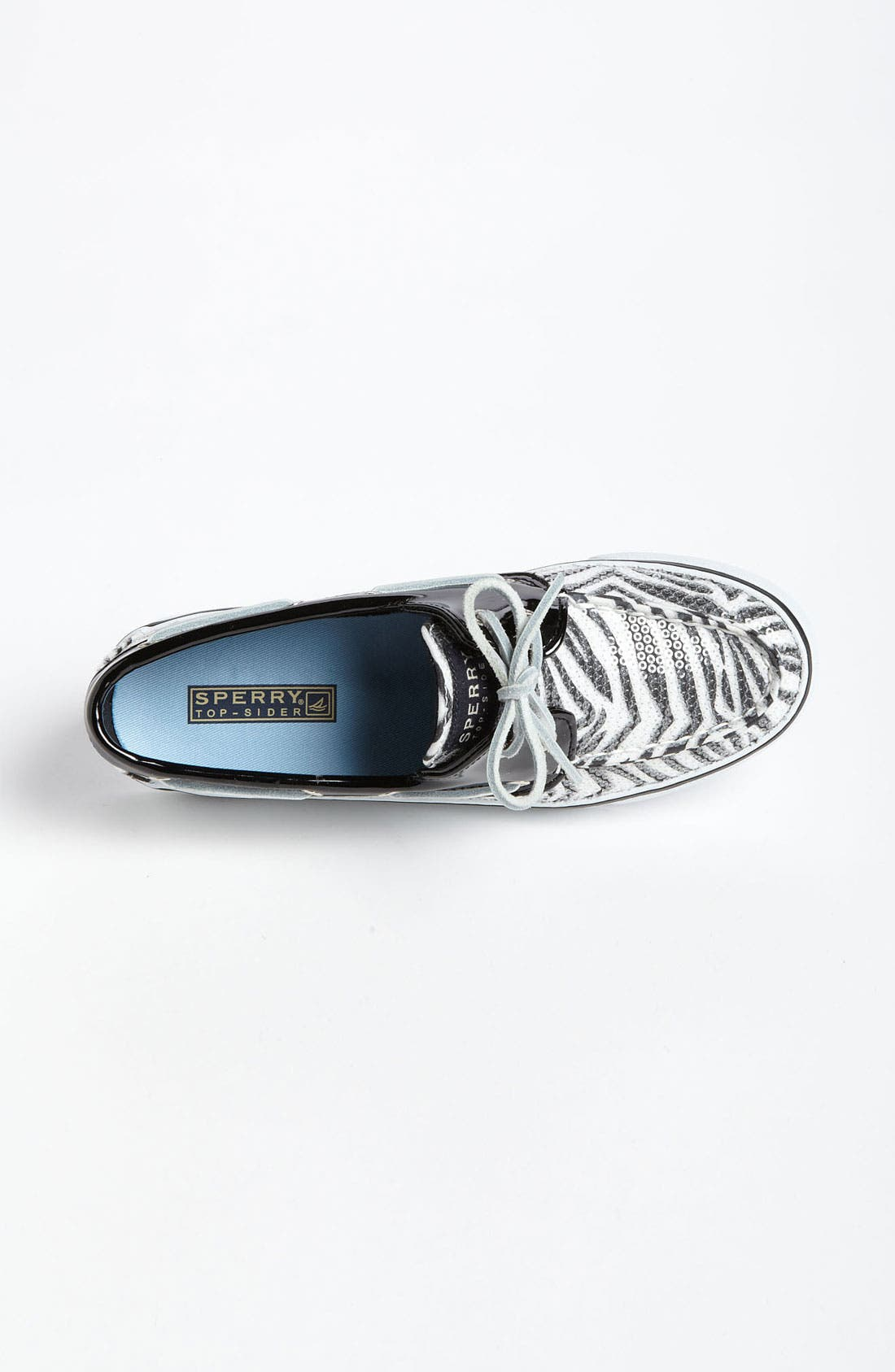 Top-Sider<sup>®</sup> 'Bahama' Sequined Boat Shoe,                             Alternate thumbnail 205, color,