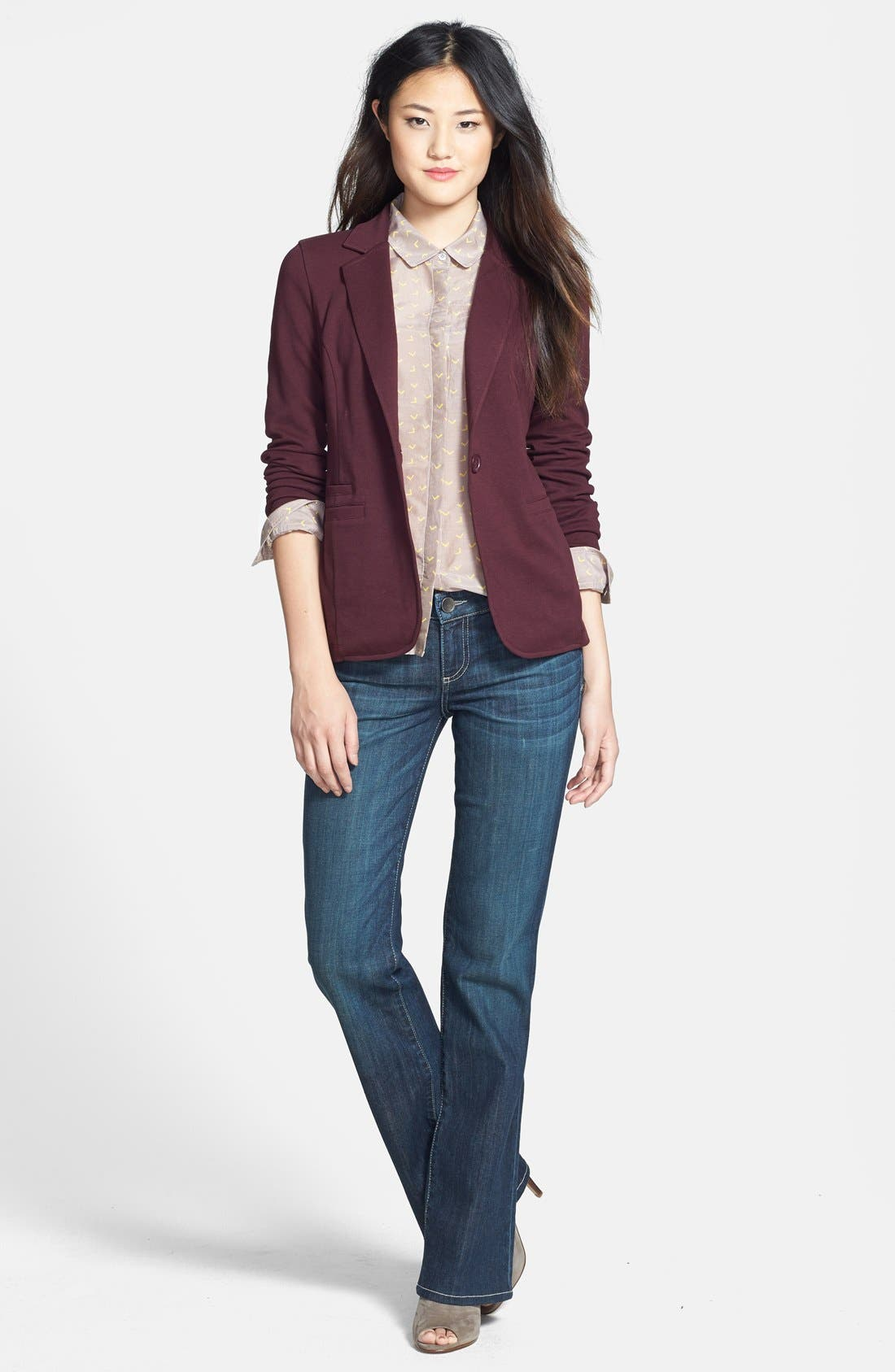 Cotton & Silk Shirt,                             Alternate thumbnail 50, color,