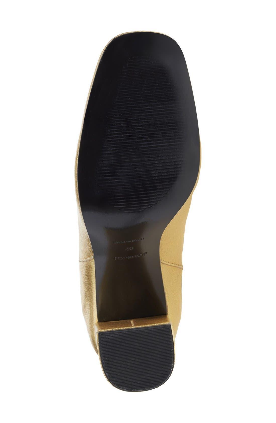 'Maria' Chelsea Block Heel Boot,                             Alternate thumbnail 4, color,                             710