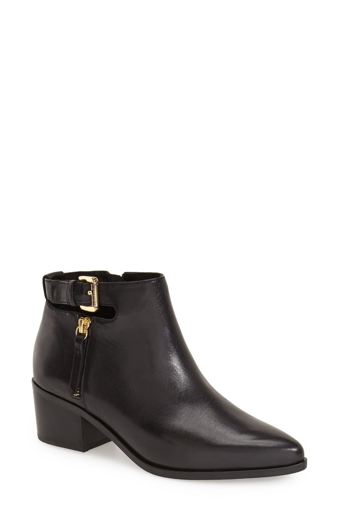 GEOX 'Lia' Ankle Boot, Main, color, 001