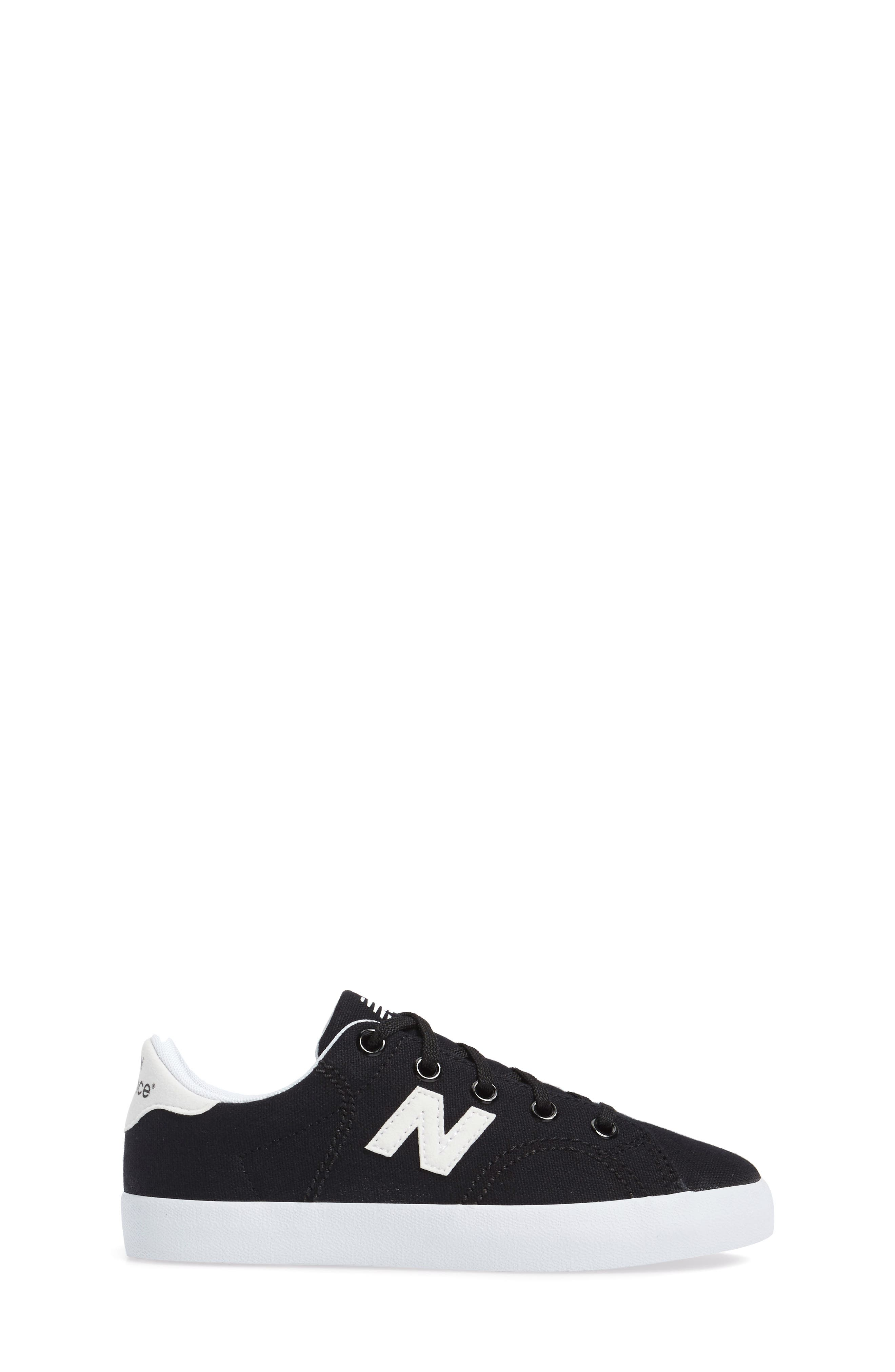 Pro Court Sneaker,                             Alternate thumbnail 3, color,                             001