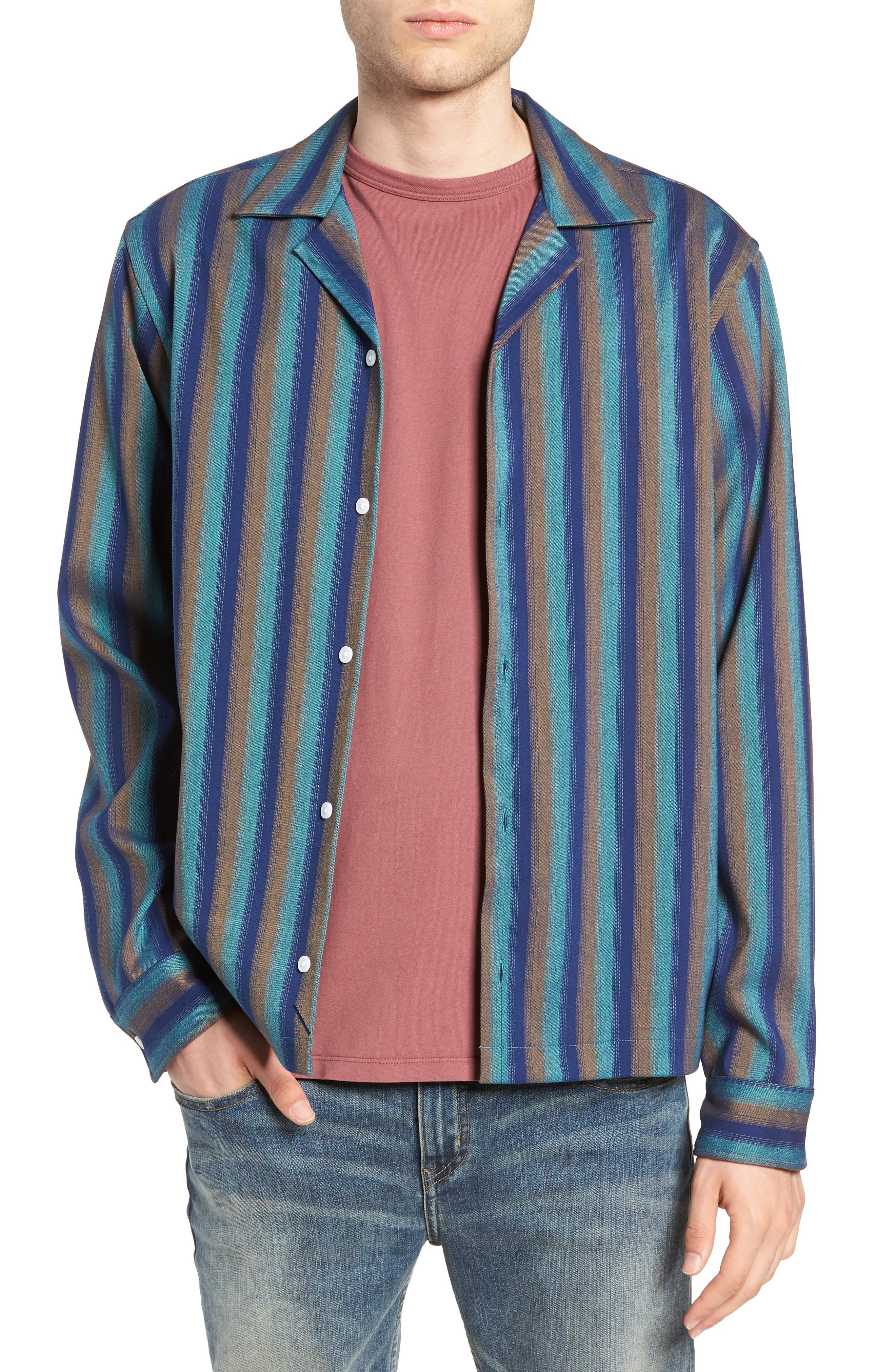 Marco Frequency Long Sleeve Woven Shirt,                             Main thumbnail 1, color,                             334